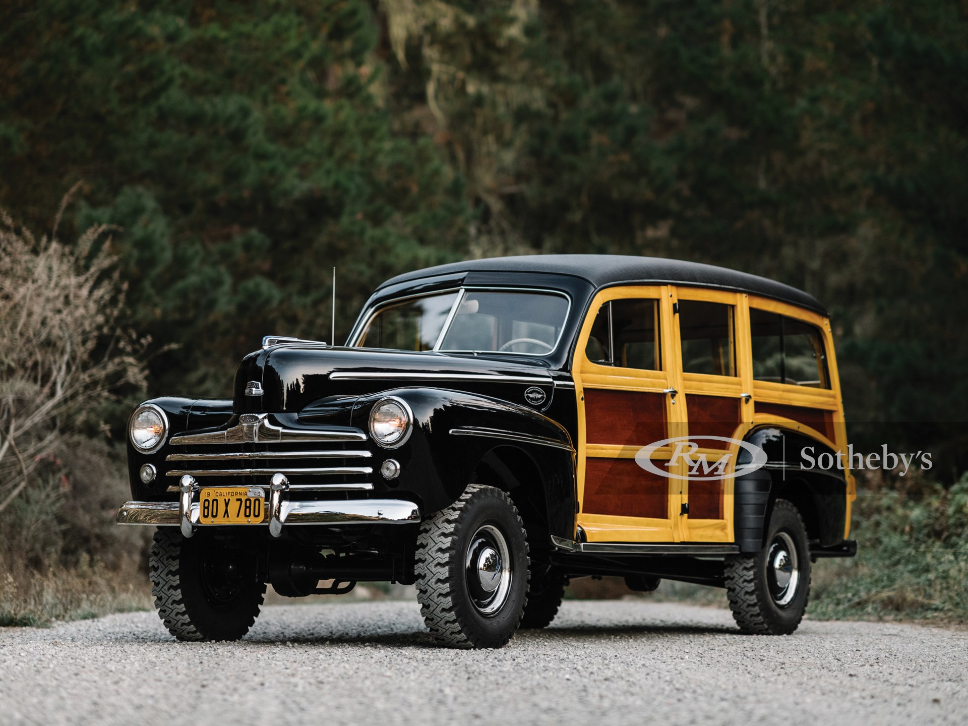 1948 Ford Marmon-Herrington Super Deluxe Station Wagon  -