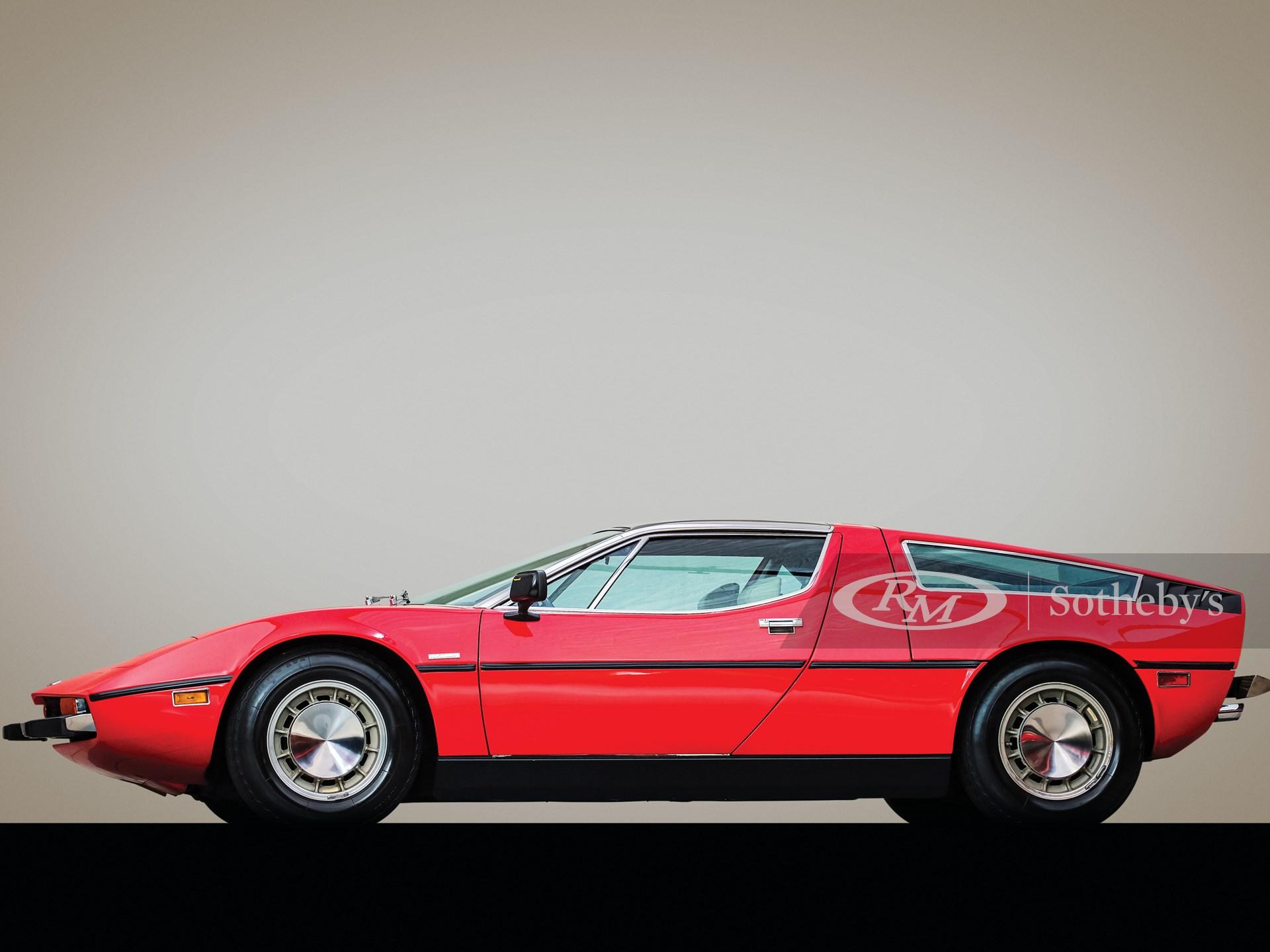 1973 Maserati Bora 4.9   Arizona 2020   RM Sotheby's