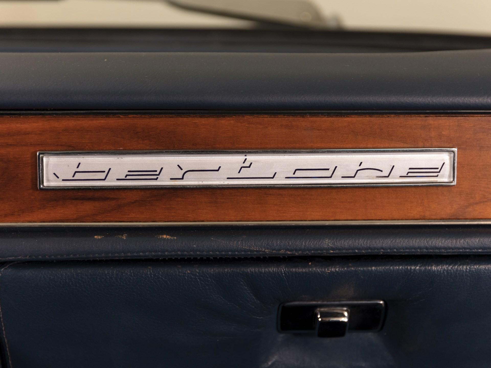 1970 Lamborghini Espada Series II by Bertone