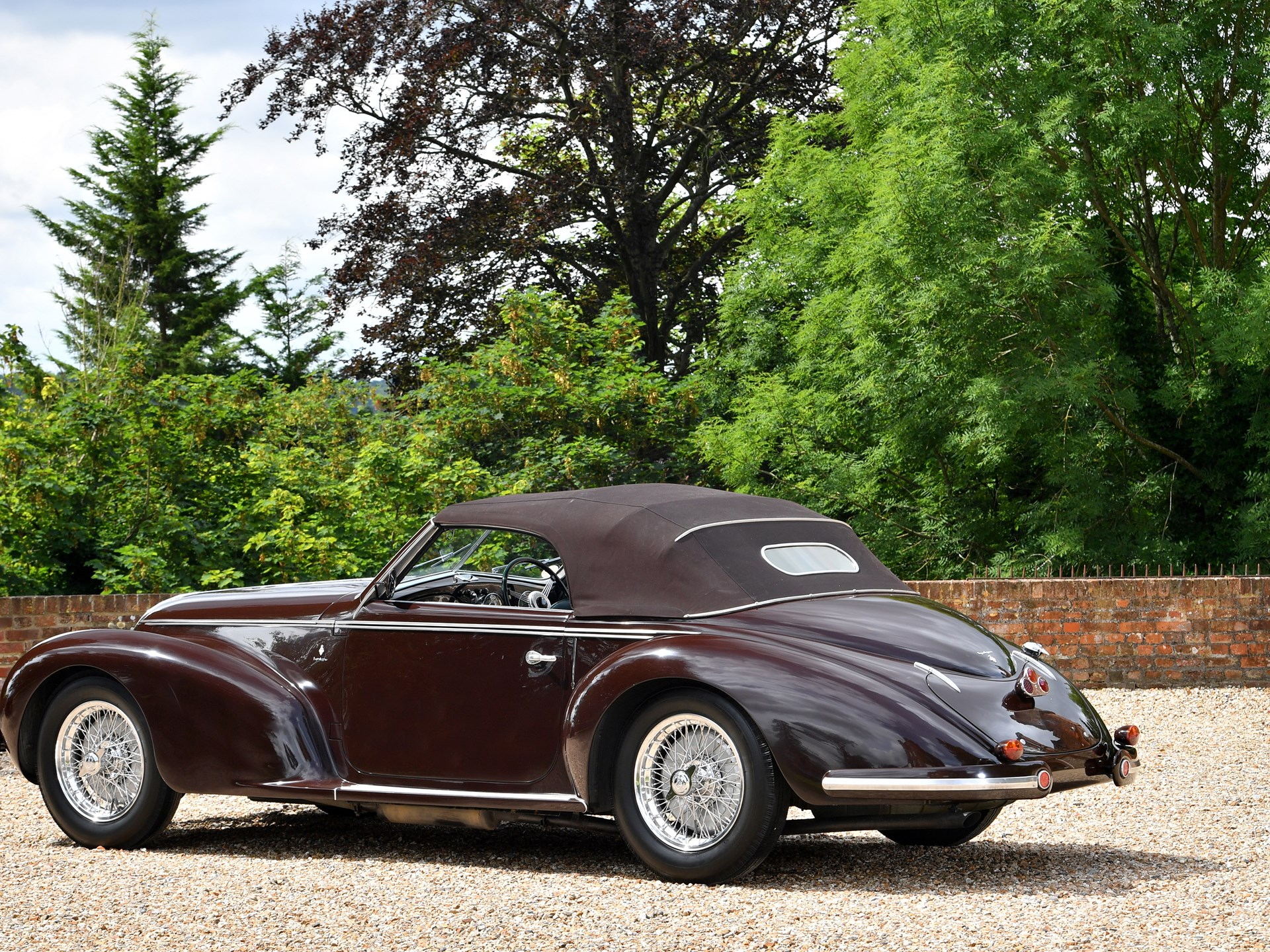 RM Sotheby s 1939 Alfa Romeo 6C 2500 Sport Cabriolet by Touring