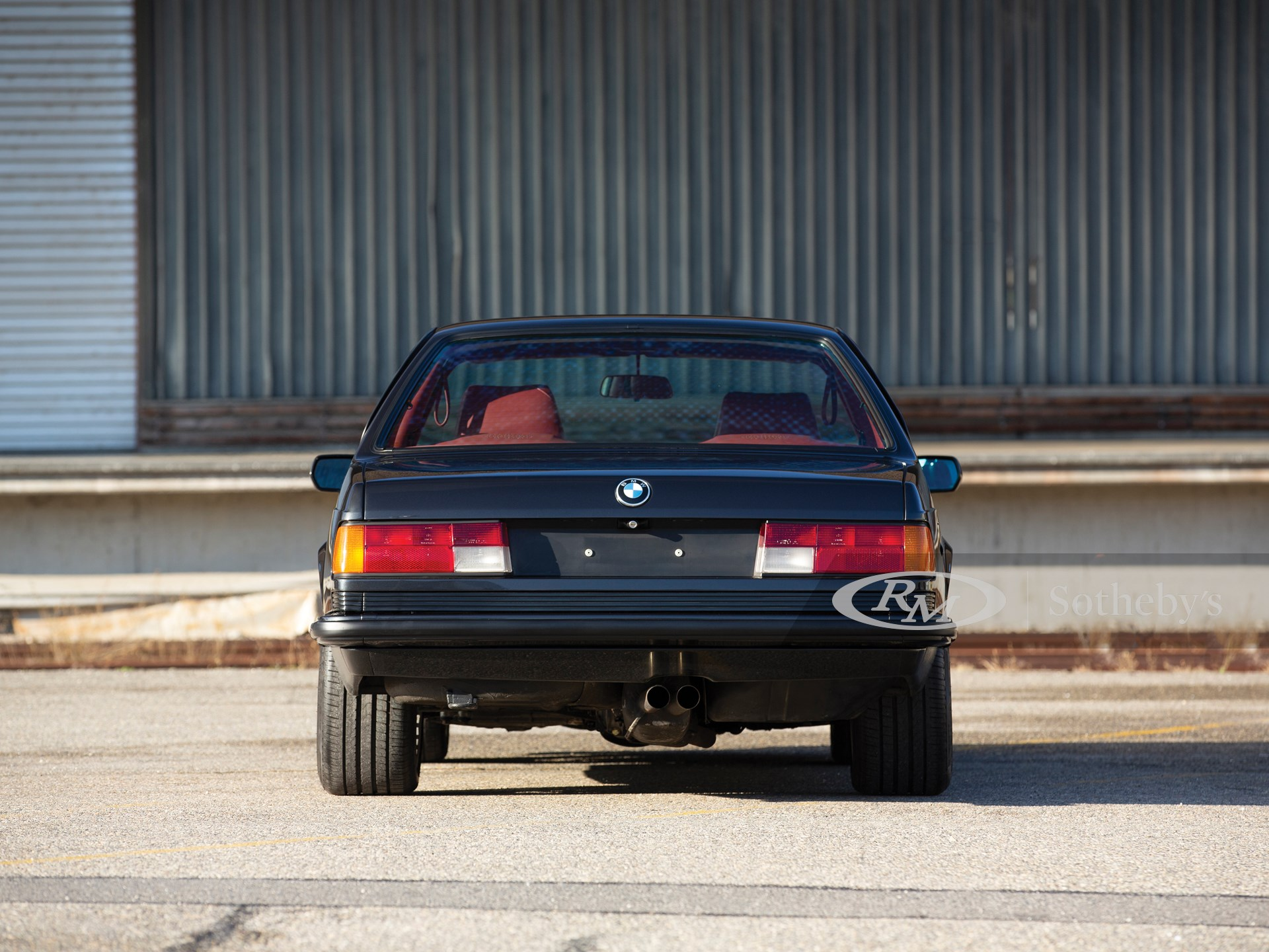 1987 BMW Alpina B7 Turbo Coupé/3  -