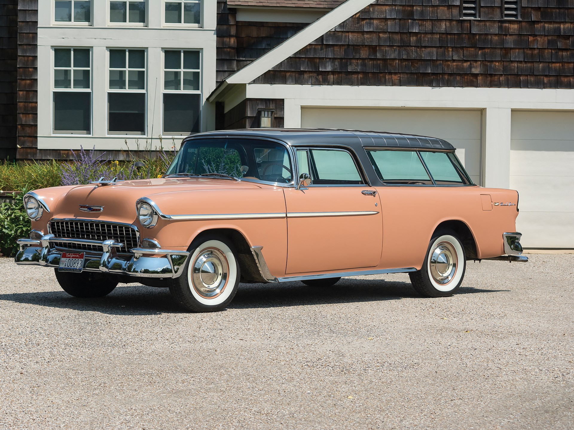 Rm Sothebys 1955 Chevrolet Bel Air Nomad Hershey 2017 1957 Chevy Station Wagon