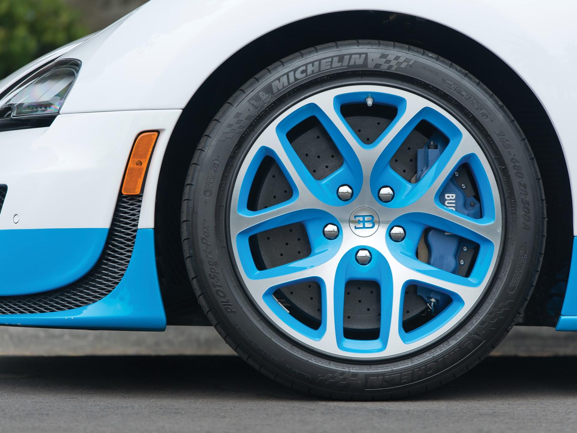 2013 Bugatti Veyron 16.4 Grand Sport Vitesse 'Le Ciel Californien'