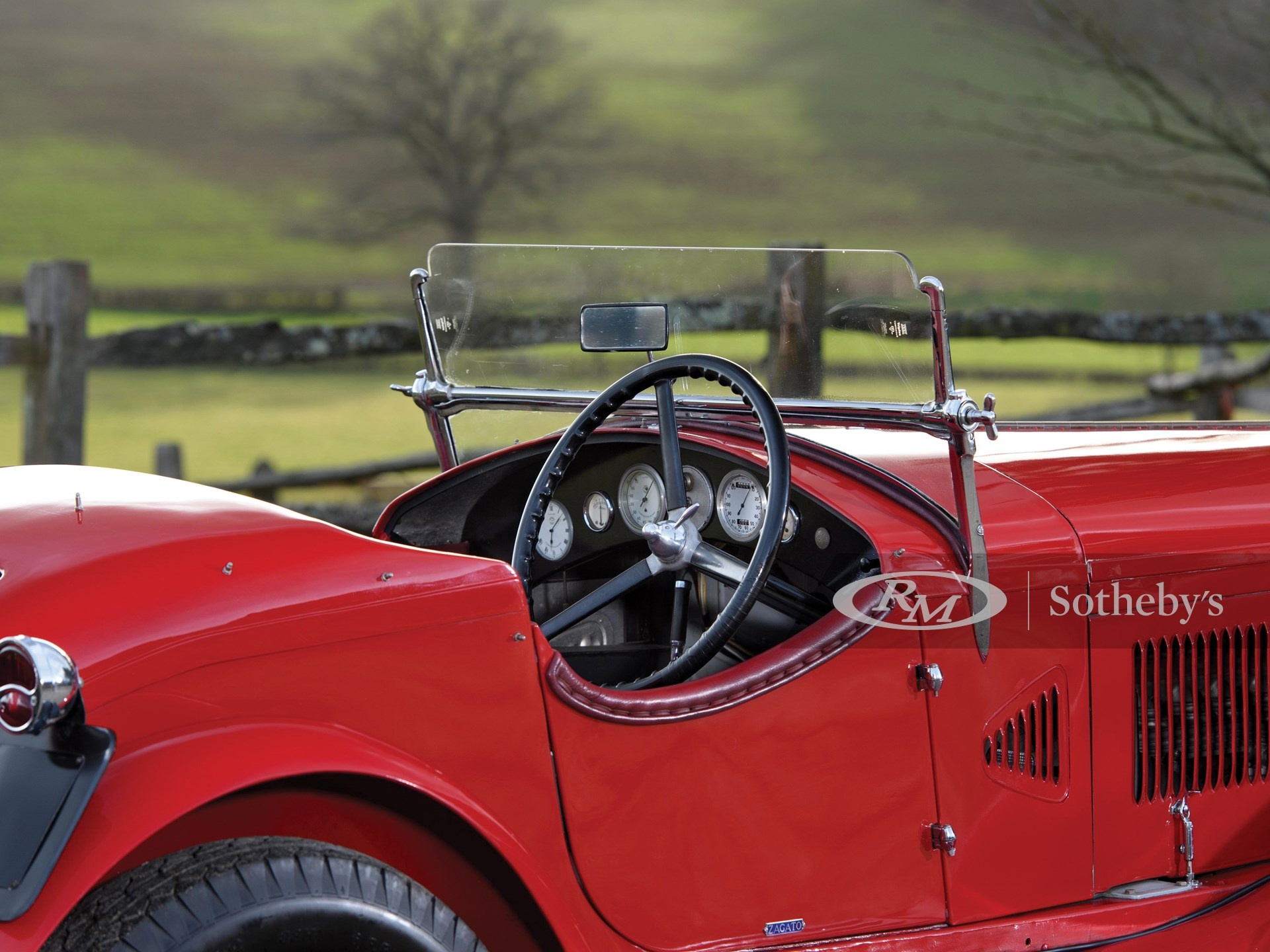 1930 Alfa Romeo 6C 1750 Gran Turismo Series IV Spider in the style of Zagato -