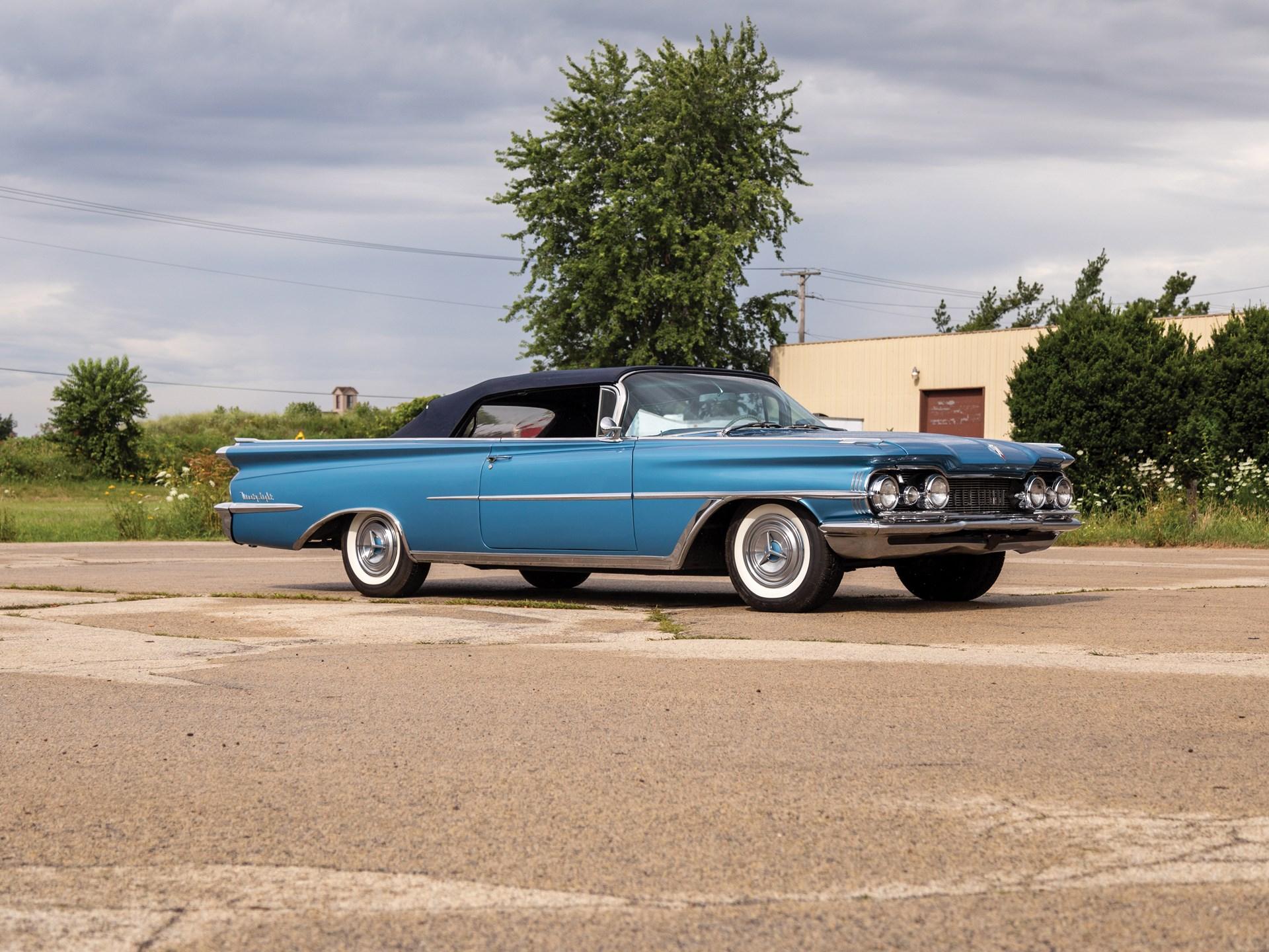 Rm Sothebys 1959 Oldsmobile 98 Convertible Auburn Fall 2018