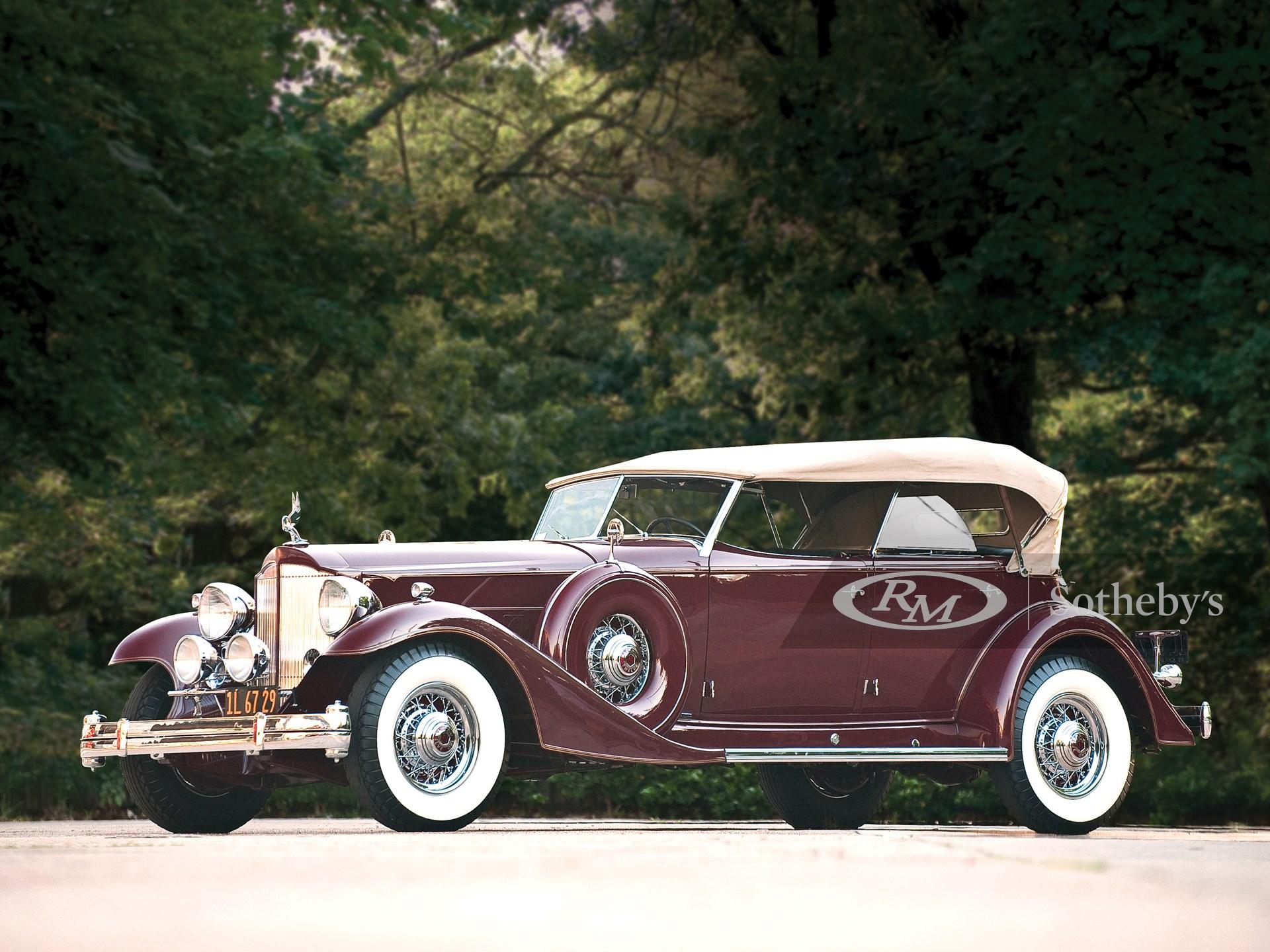 1933 Packard Twelve Sport Phaeton by Dietrich