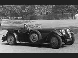 1937 Bugatti Type 57SC Tourer by Corsica - $The original owner, Maurice Fox-Pitt Lubbock, shows off his Corsica-bodied Type 57S Bugatti.