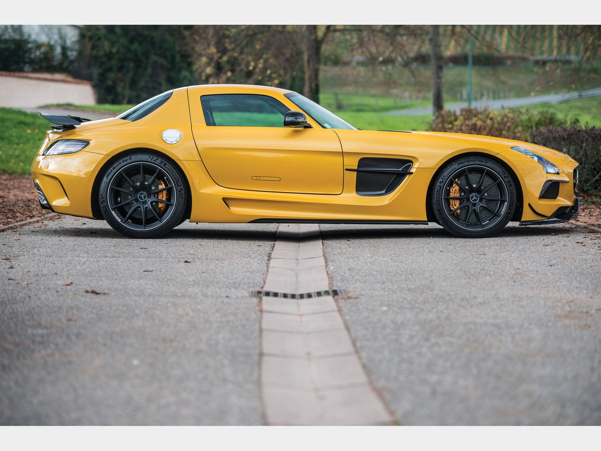 2014 Mercedes Benz SLS AMG Black Series
