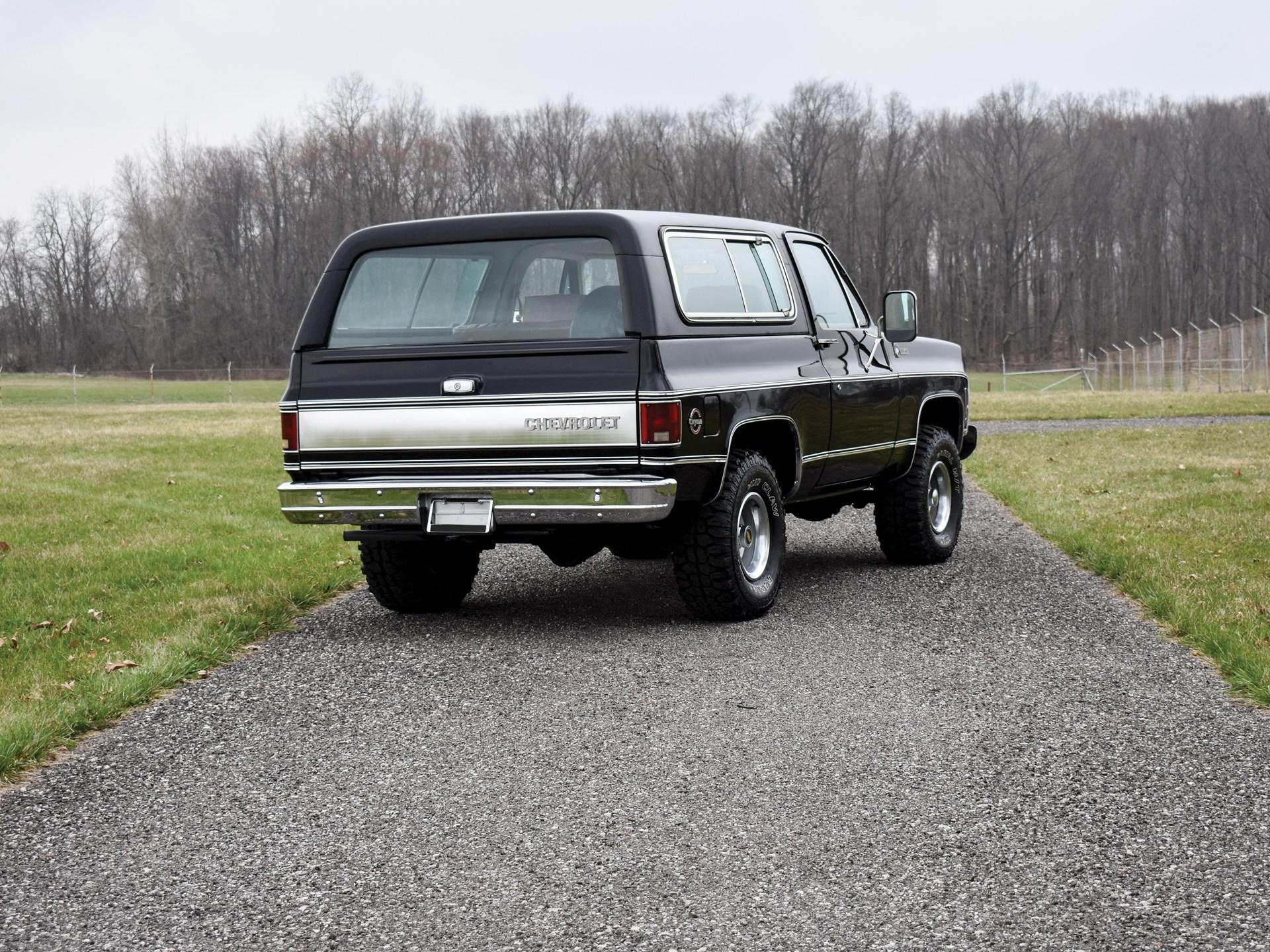 RM Sotheby's - 1979 Chevrolet K5 Blazer Cheyenne   Auburn
