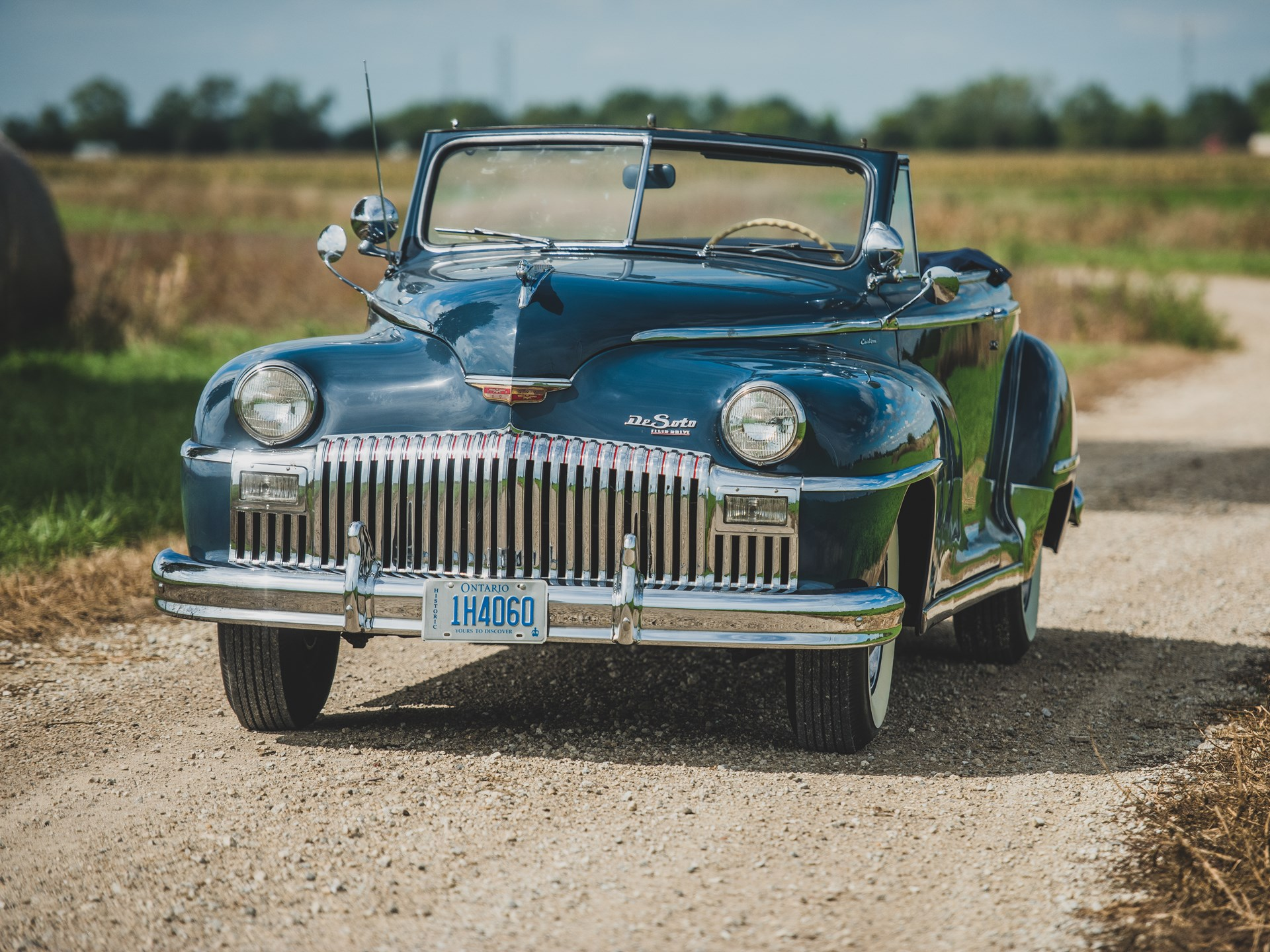 1942 Desoto Convertible Chrysler New Yorker Rm Sothebys Custom Hershey 1920x1440
