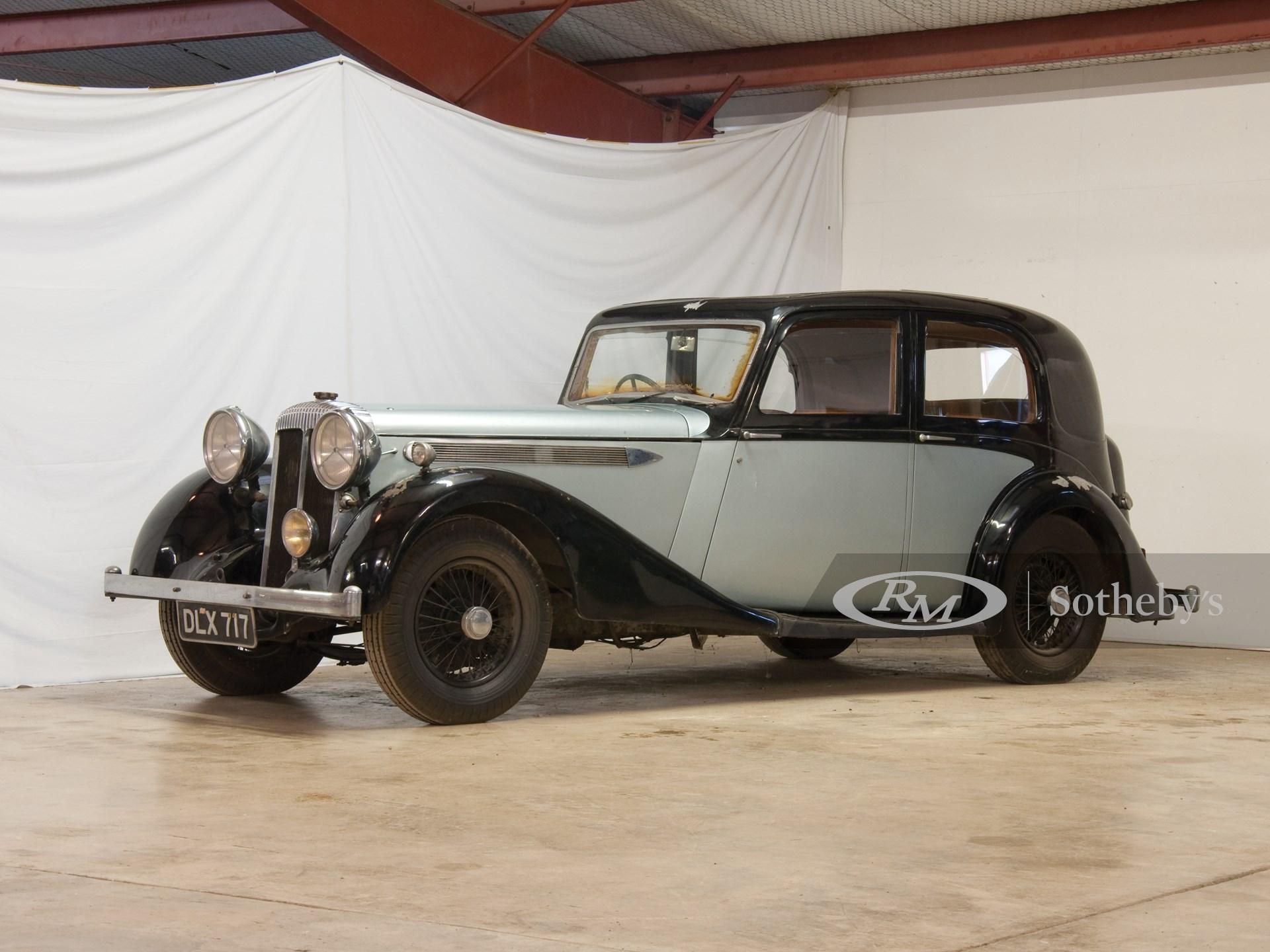1937 Daimler Sport Saloon