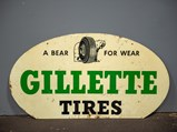 Gillette Tires Double-Sided Sign - $