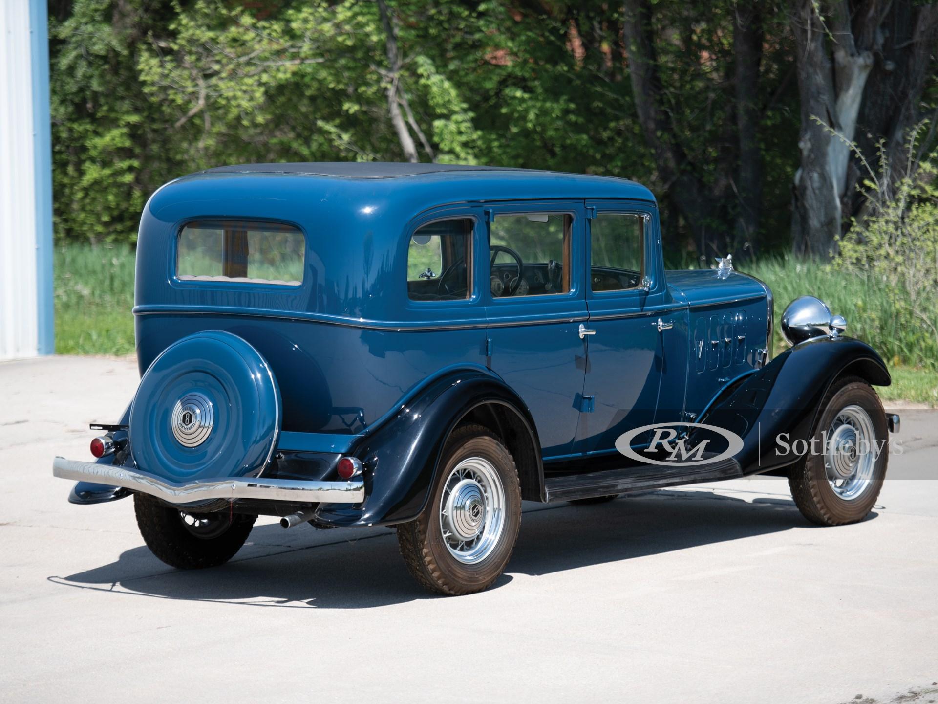 1933 Essex Terraplane Eight Model KT Sedan  -