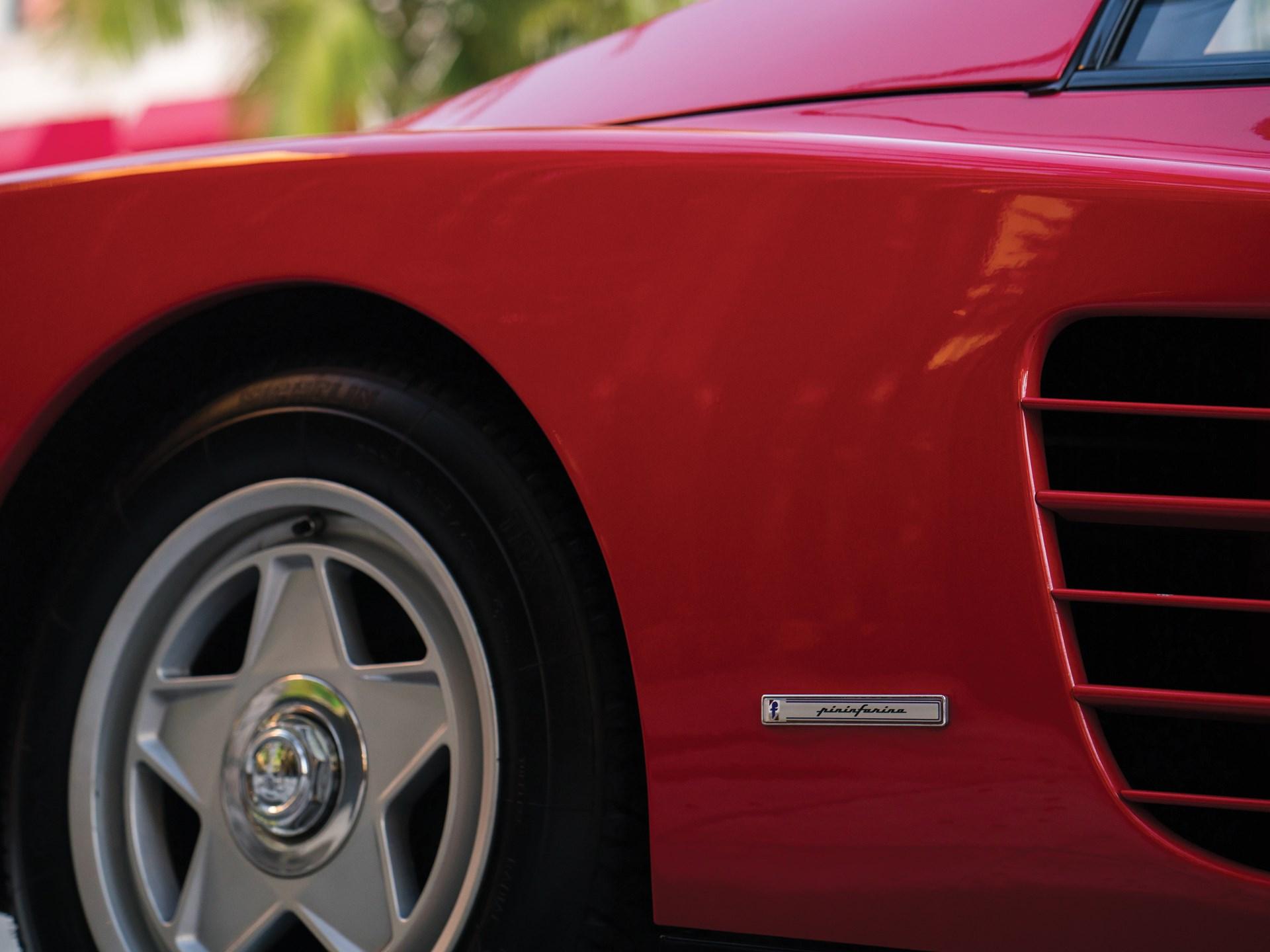 1986 Ferrari Testarossa 'Flying Mirror'