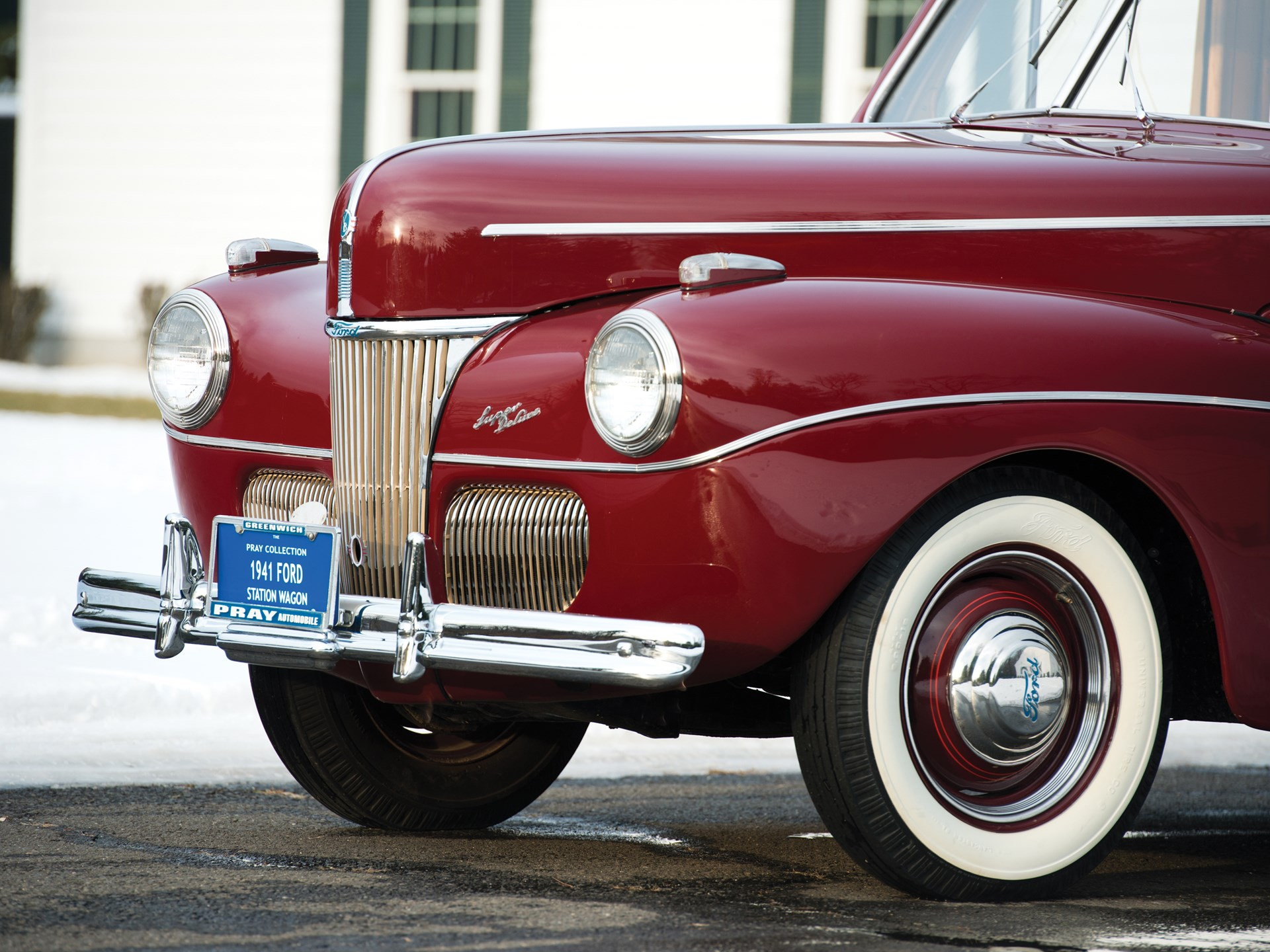 Rm Sothebys 1941 Ford Super Deluxe Station Wagon Amelia Island 2014