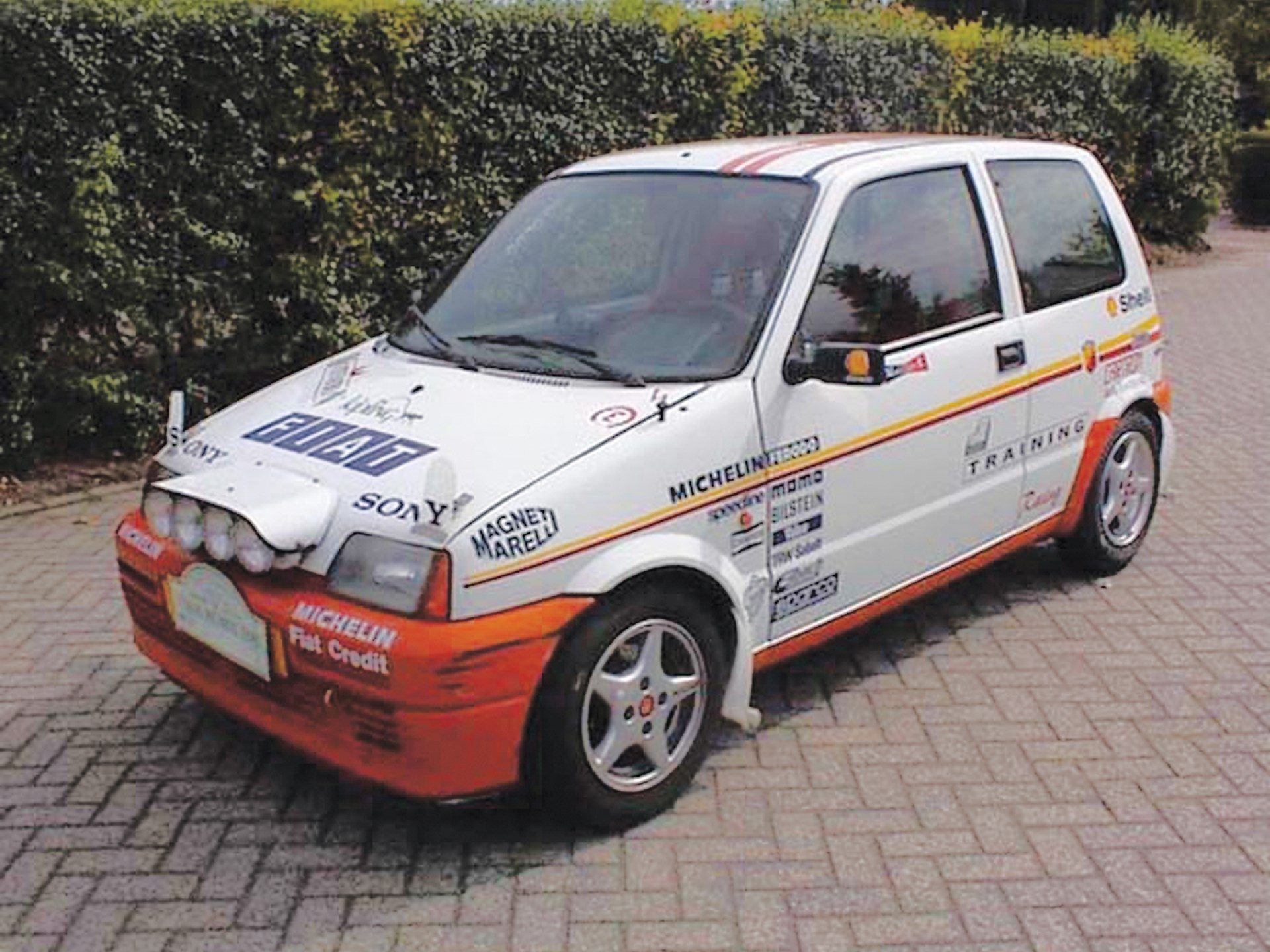 Rally Motor Credit >> Rm Sotheby S 1996 Fiat Cinquecento Tropheo Rally