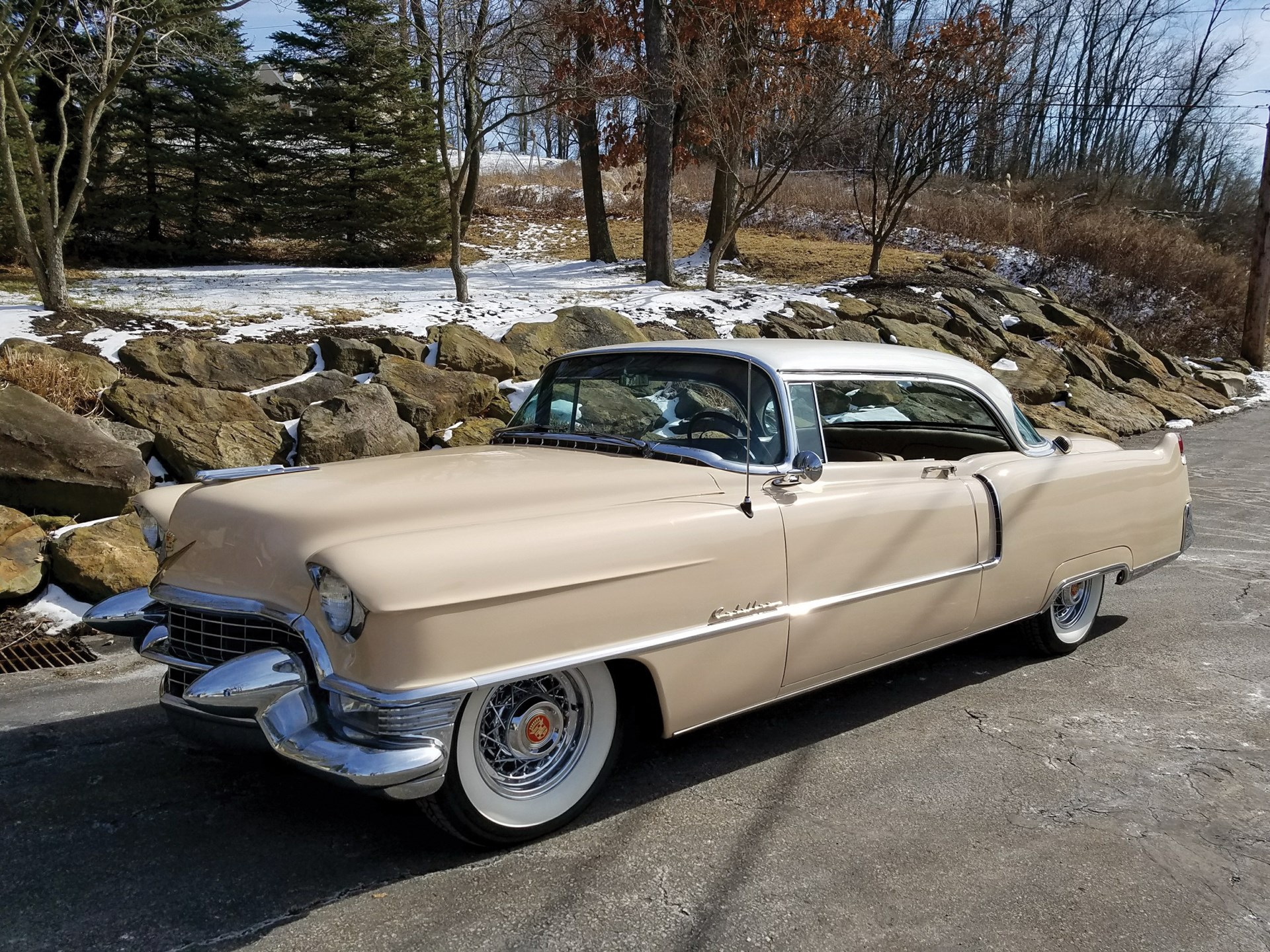 RM Sotheby's - 1955 Cadillac Series 62 Coupe DeVille   Fort ...