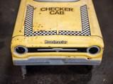 Checker Cab Pedal Car - $