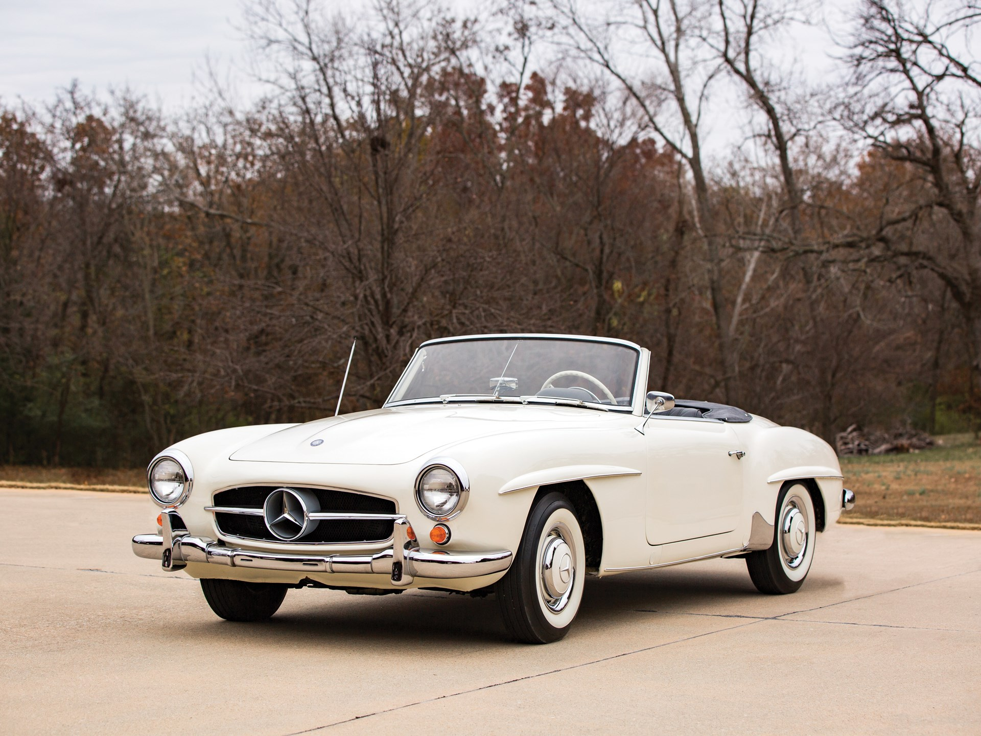 Rm Sotheby S 1959 Mercedes Benz 190 Sl Arizona 2017