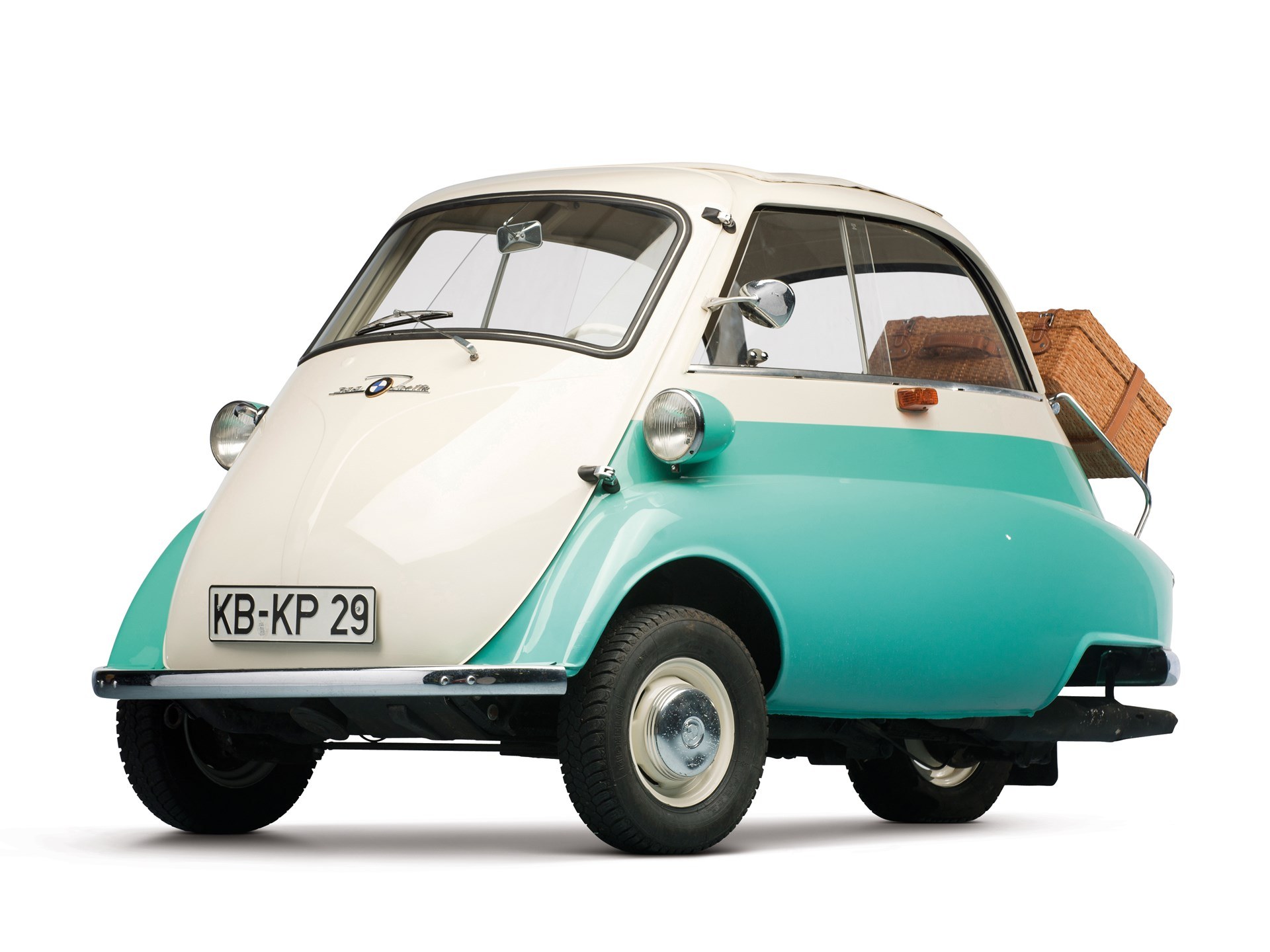 1959 Bmw Isetta 300 Three Wheel Special Export Model