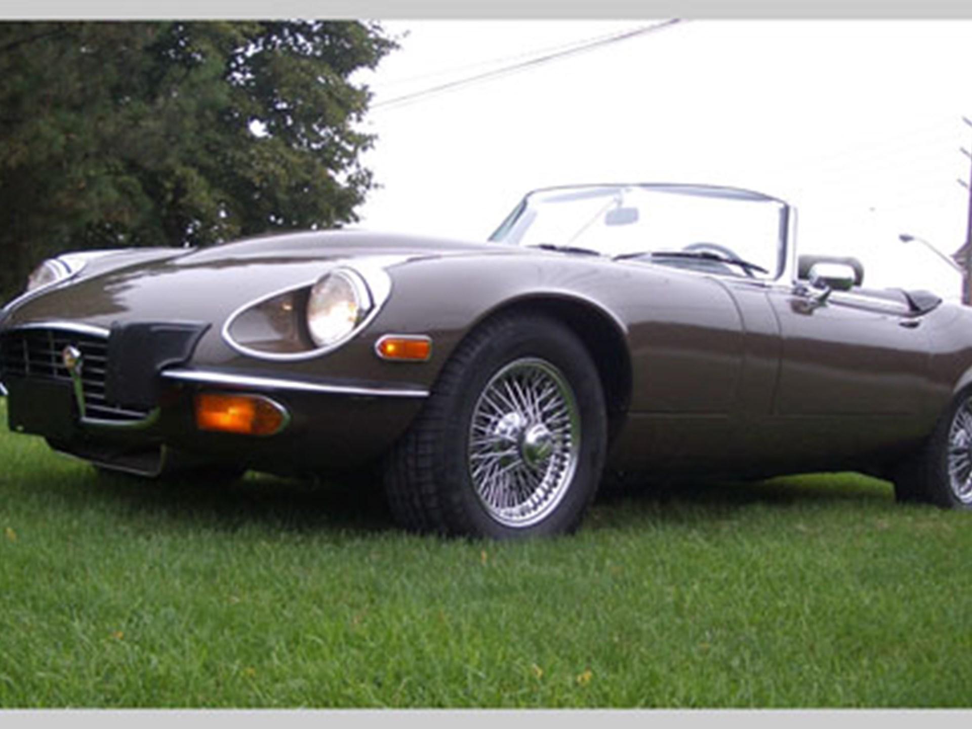 1974 Jaguar XKE V12 Series 3 Convertible