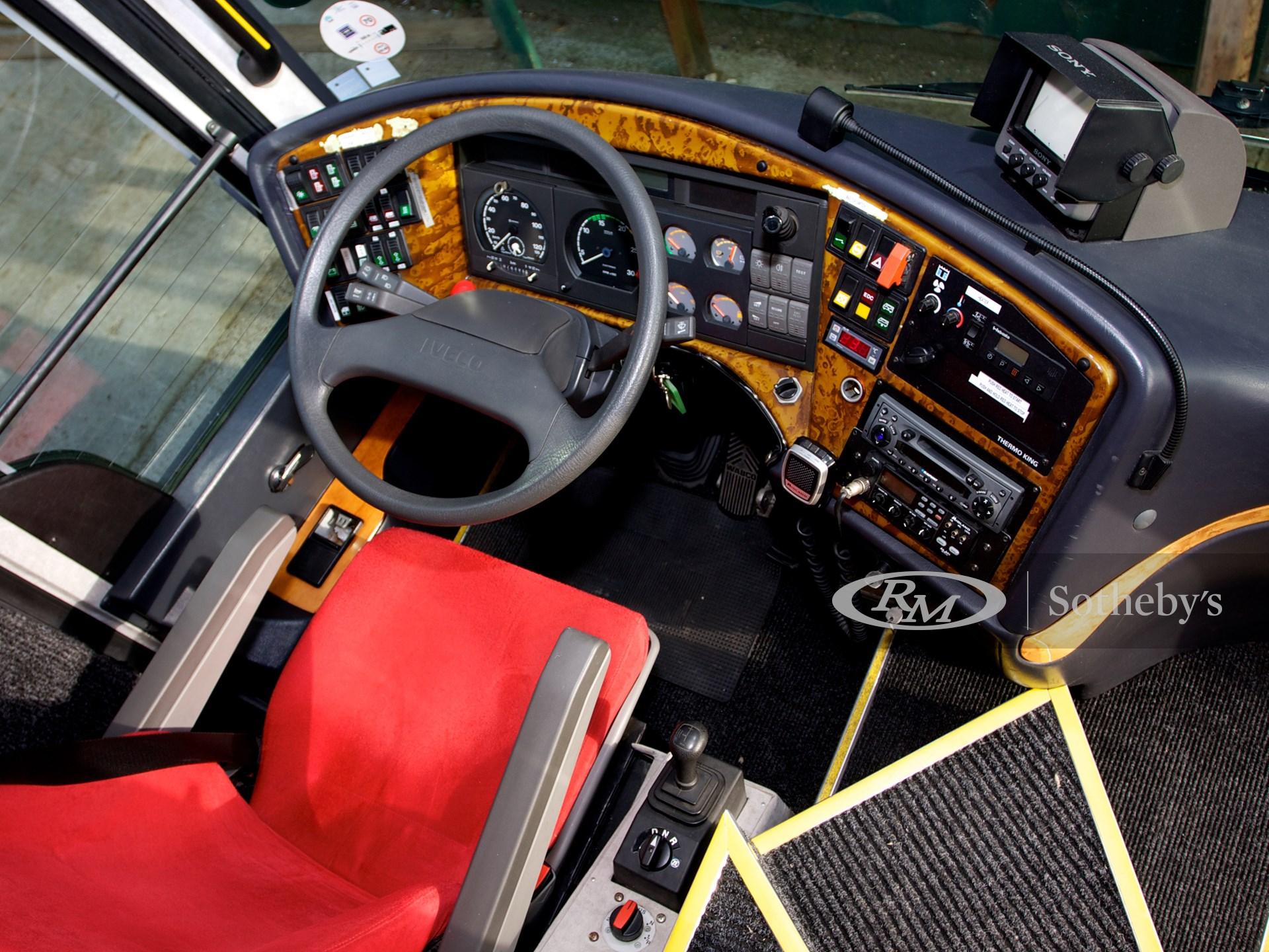 2001 Iveco Domino HDH Orlandi Scuderia Ferrari F1 Driver's Coach  -