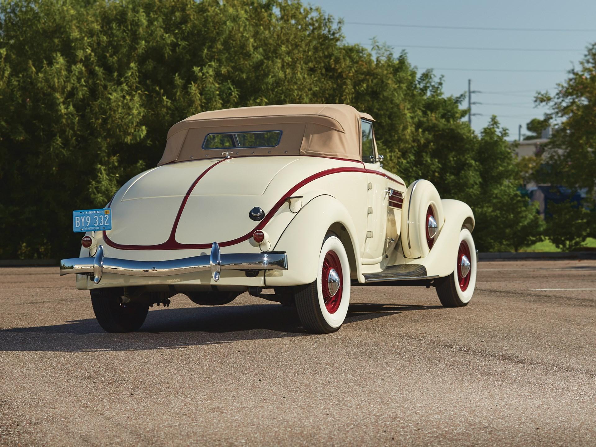 1936 Auburn Eight Custom Cabriolet