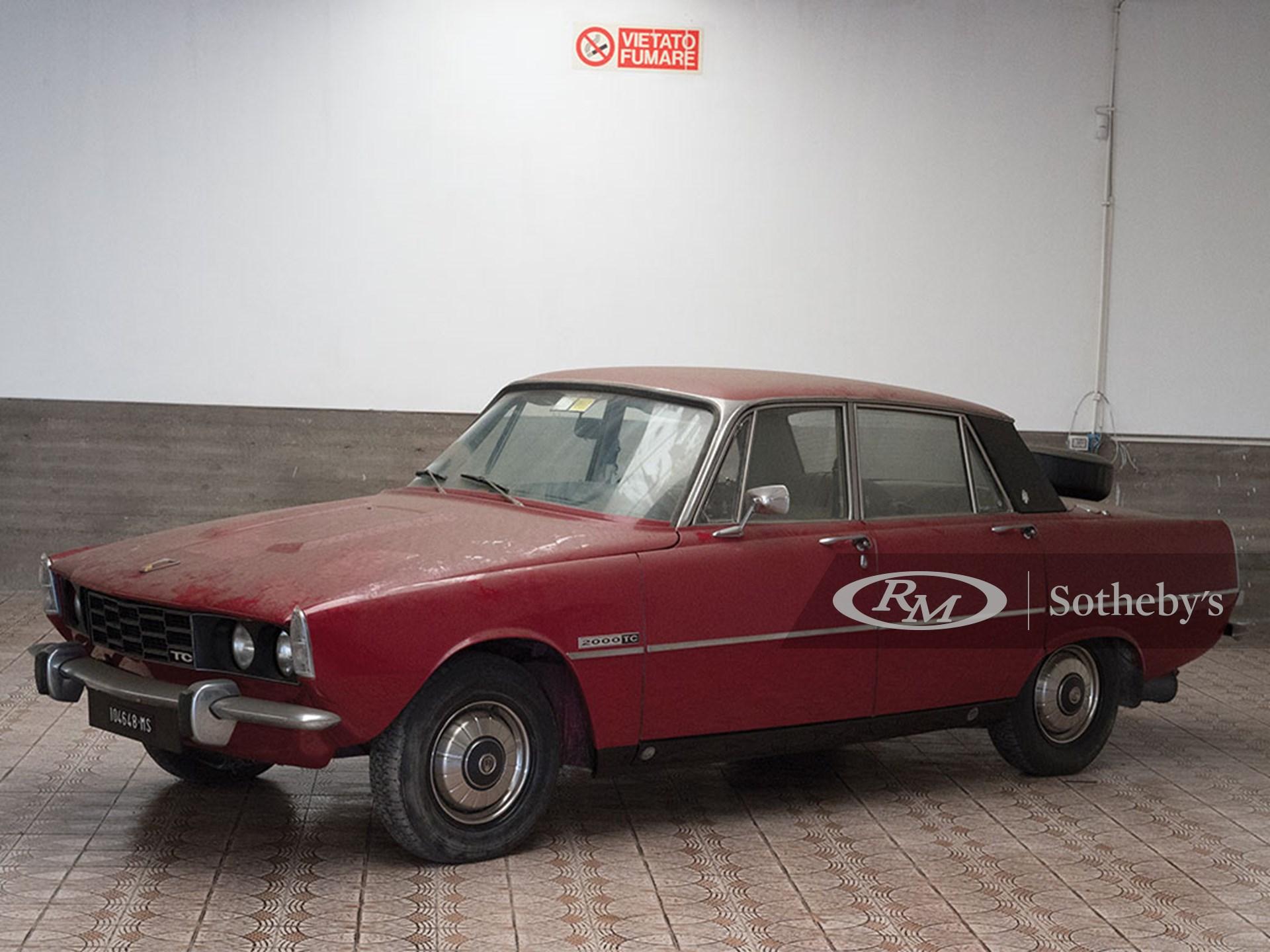 1976 Rover P6 2000 TC