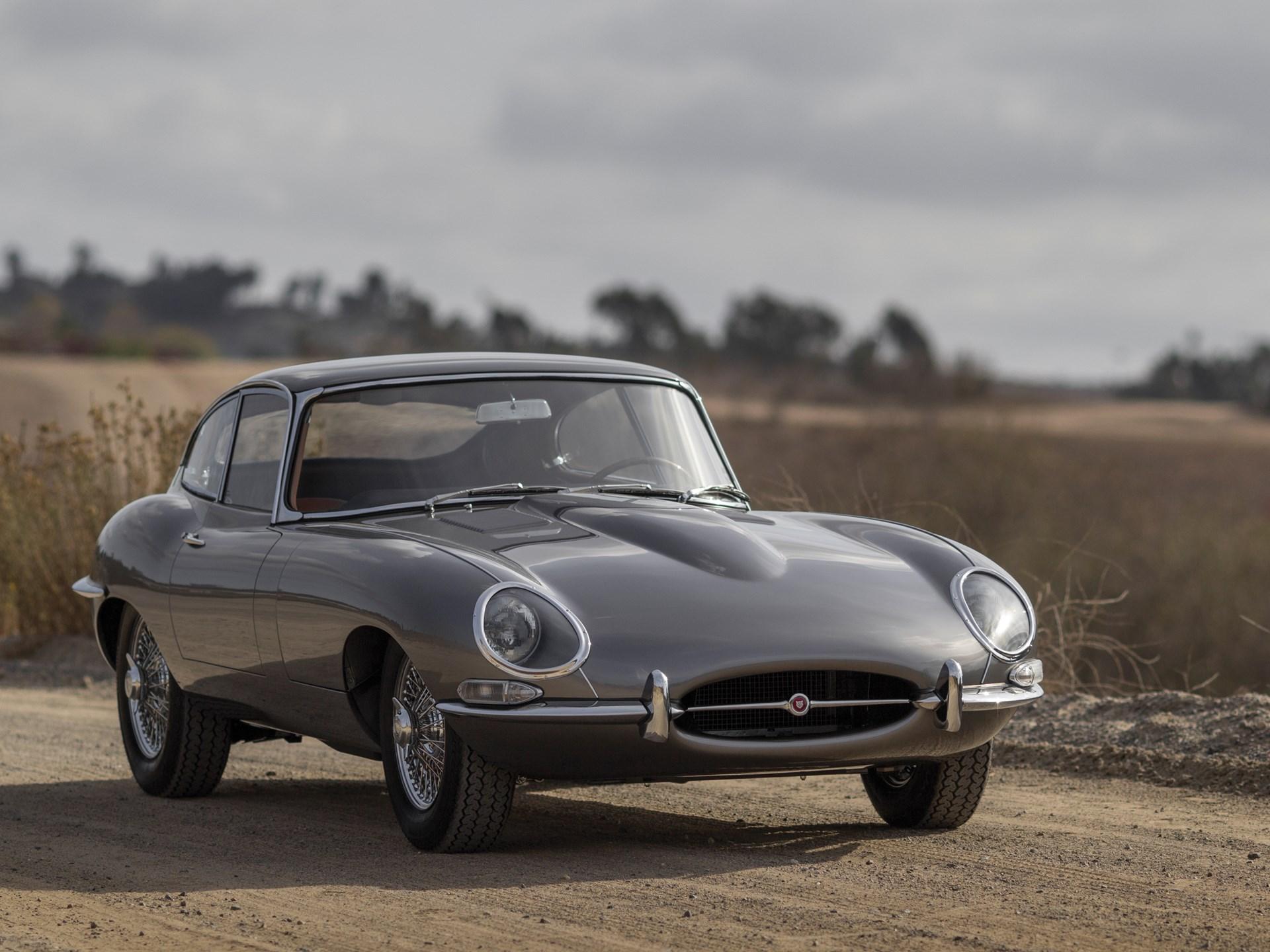 1964 Jaguar E Type Series 1 3.8 Litre Fixed Head Coupe