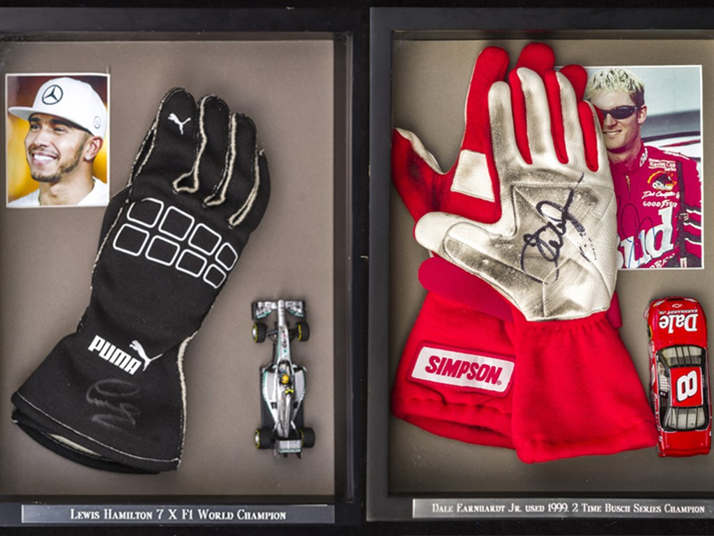 Signed Champions of Motorsport automobilia collection Offered at RM Sothebys Monterey Live Auction 2021