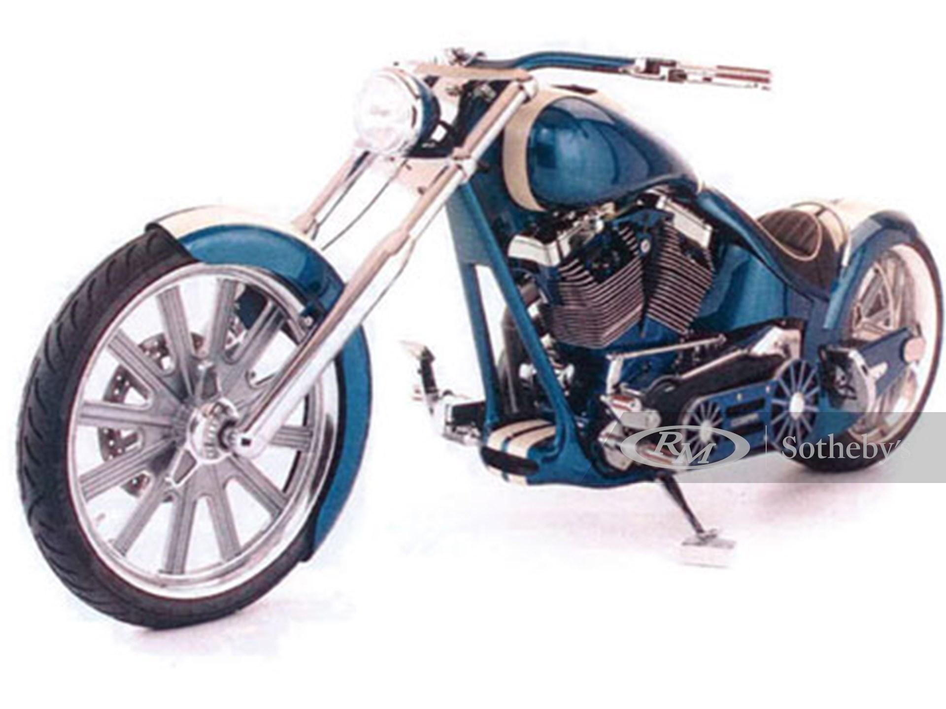 2007 Custom Motorcycle Built for Carroll Shelby