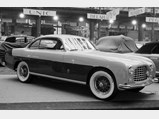 1952 Ferrari 212 Inter Coupe by Ghia - $The Ferrari 212 Inter on display at the 1952 Paris Motor Show.