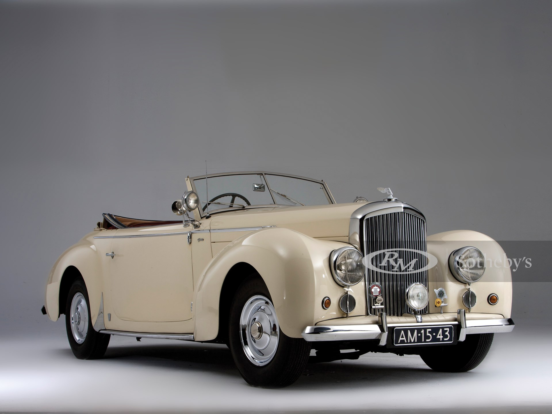 1948 Bentley Mark VI Drop Head Coupé