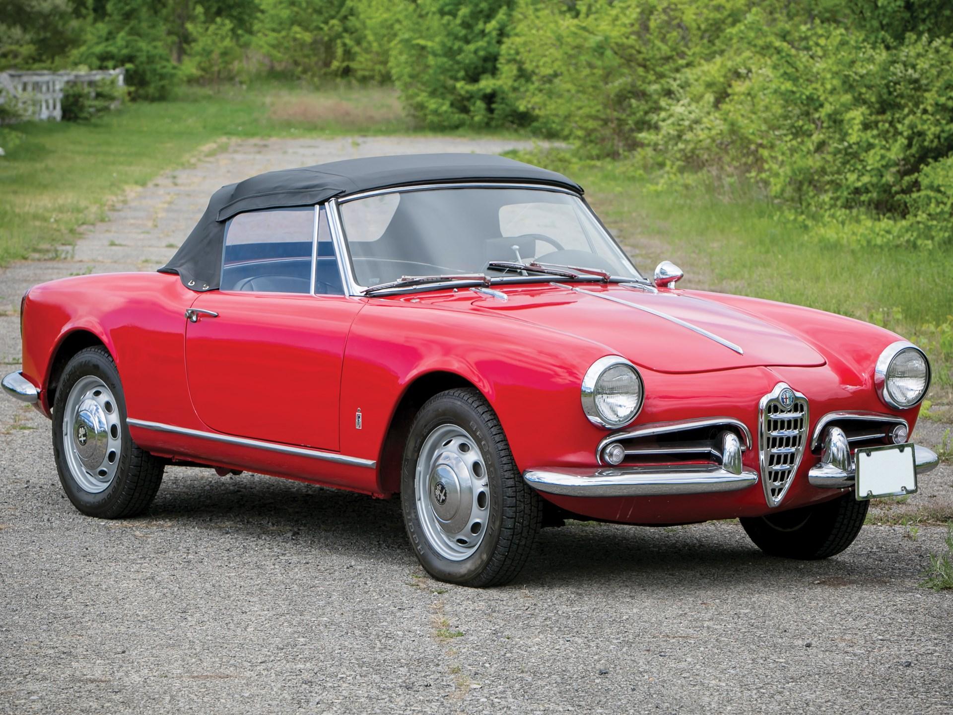 Rm Sothebys 1962 Alfa Romeo Giulietta Spider By Pininfarina 2015