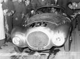 """1950 Ferrari 166 MM/212 Export """"Uovo"""" by Fontana - $Giro di Sicilia, 1951."""