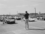1962 Ferrari 196 SP by Fantuzzi - $Chassis 0806 in the Bahamas for the Nassau Speed Week, 1963.