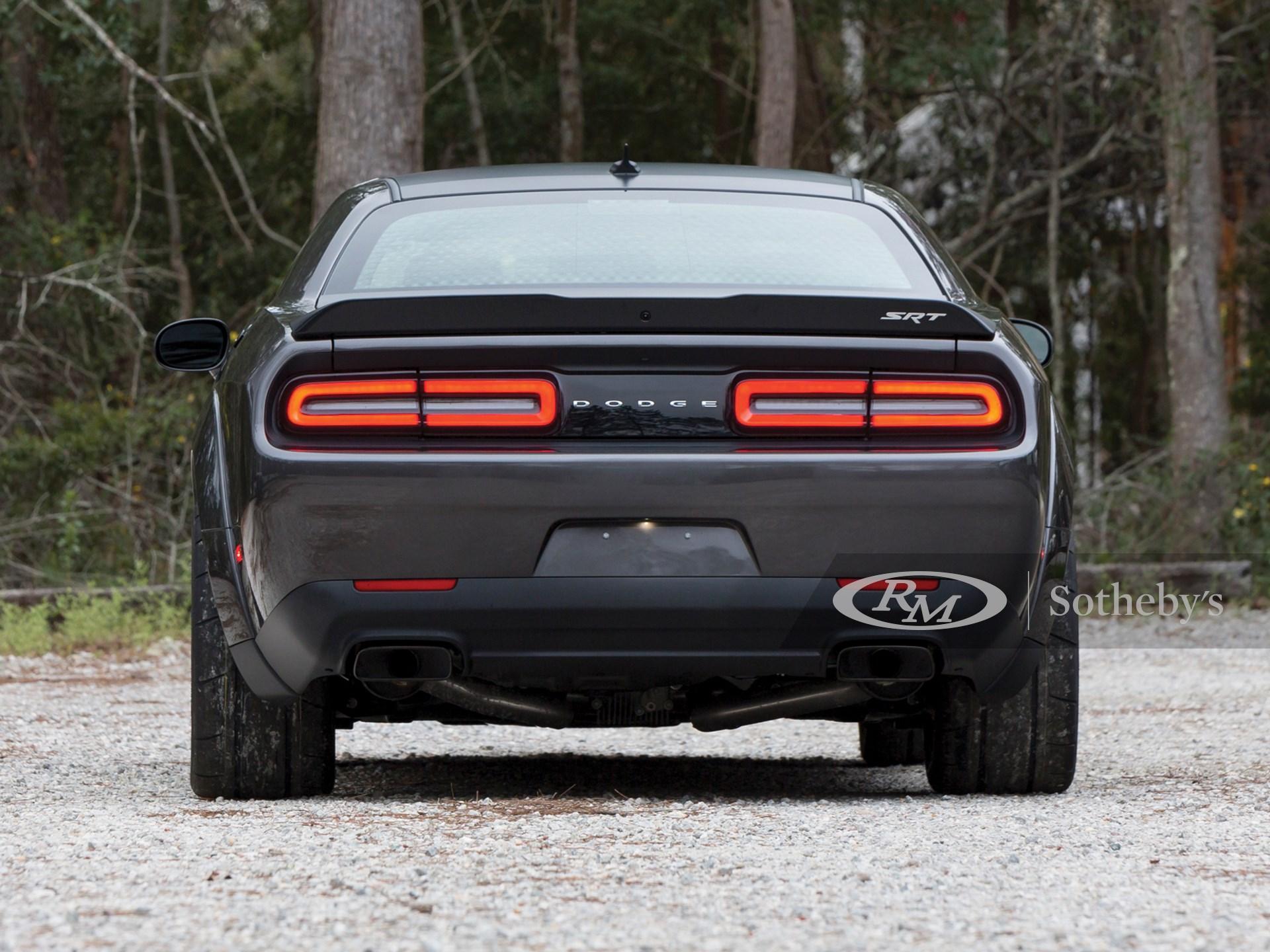 2018 Dodge Challenger SRT Demon  -