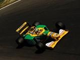 1992 Benetton B192  - $Michael Schumacher behind the wheel of the Benetton at the 1992 Italian Grand Prix at Monza.