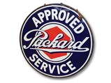 Packard Approved Service with Lug Nut Logo Sign - $