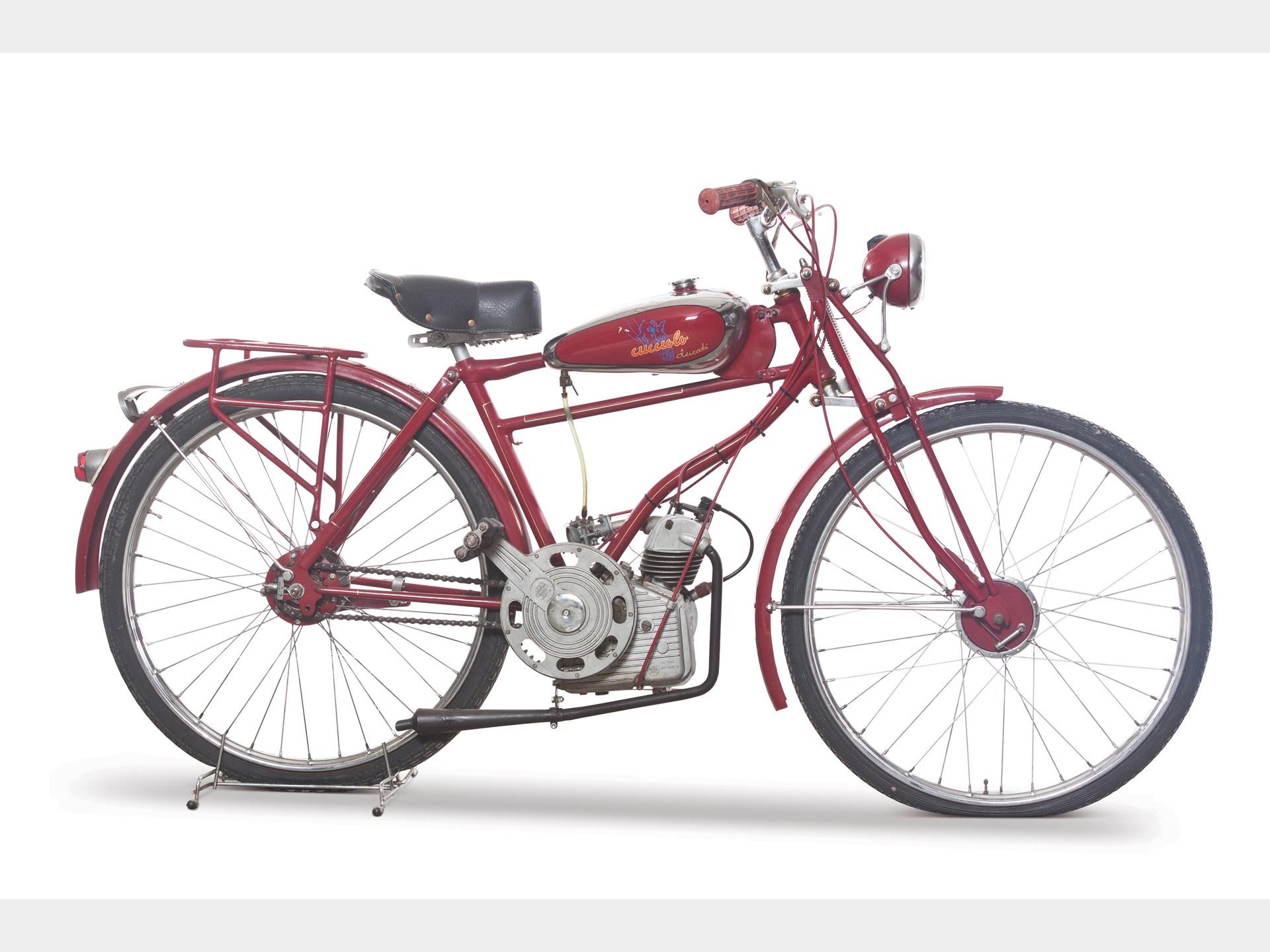 Begini Nih Motor Pertama Ducati Wujudnya Mirip Sepeda Ontel