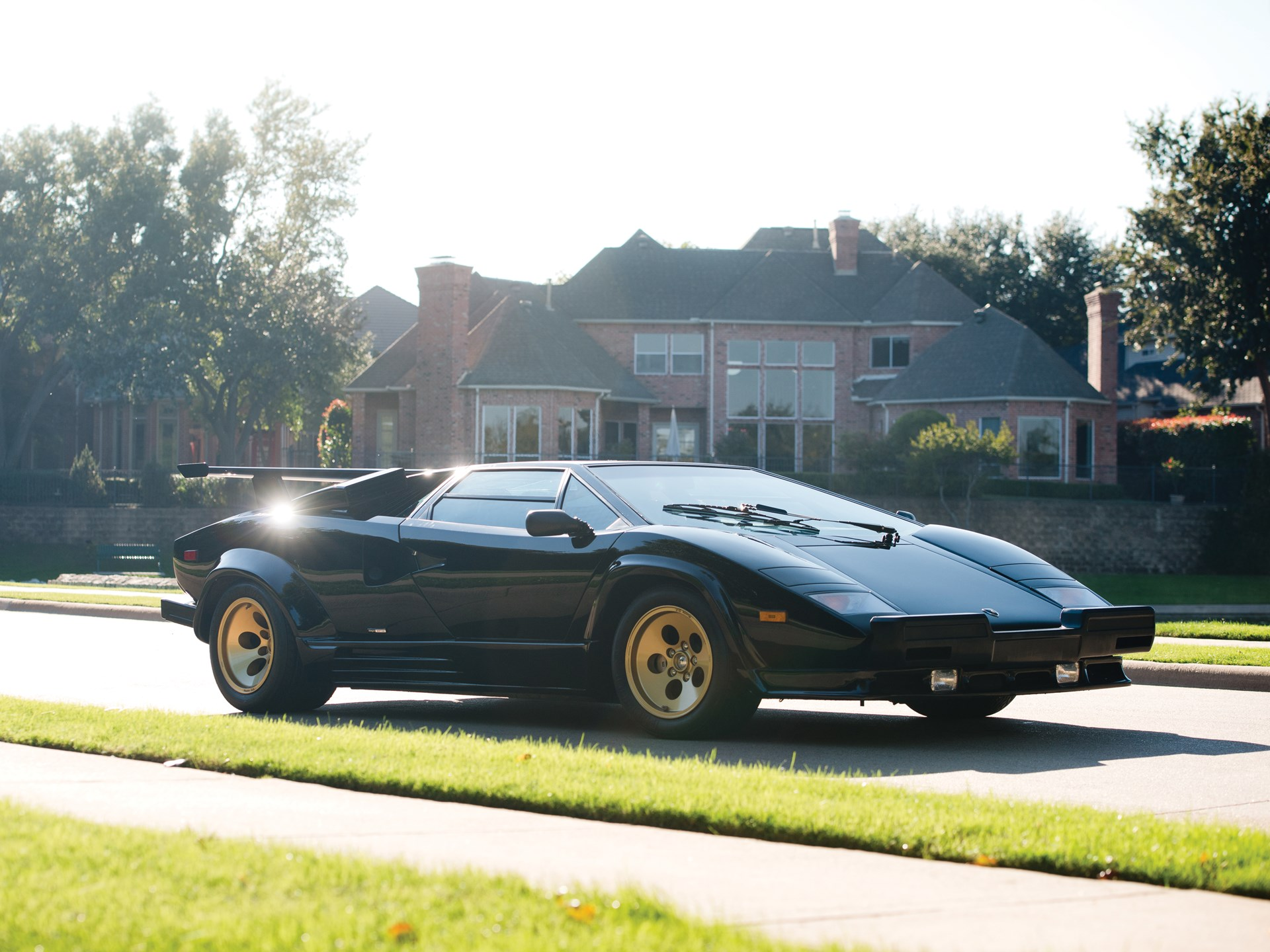 Rm Sotheby S 1988 Lamborghini Countach 5000 Qv Arizona 2015