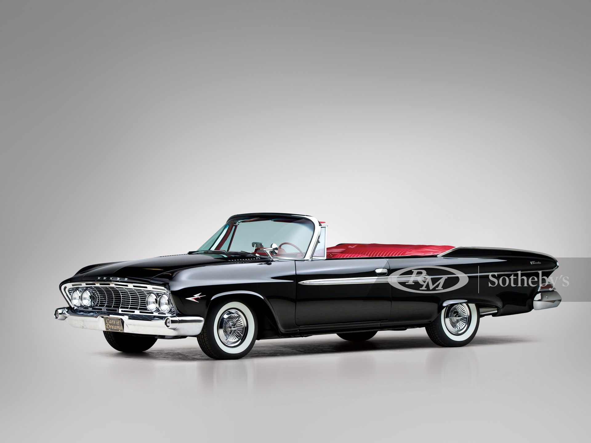 1961 Dodge Dart Phoenix D 500 Convertible Coupe The John Staluppi Collection 2012 Rm Auctions
