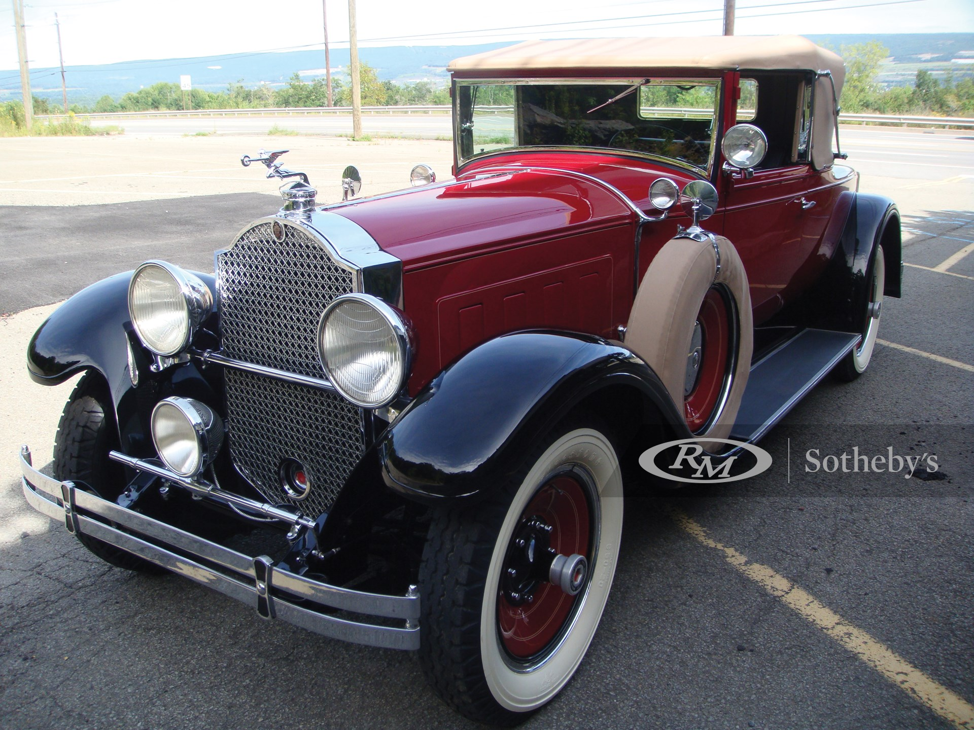 1929 Packard 640 Custom Convertible Coupe