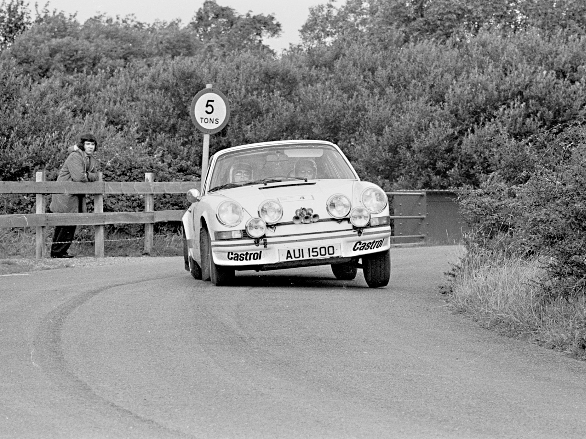 AUI 1500 at the 1974 Castrol Manx International Rally.