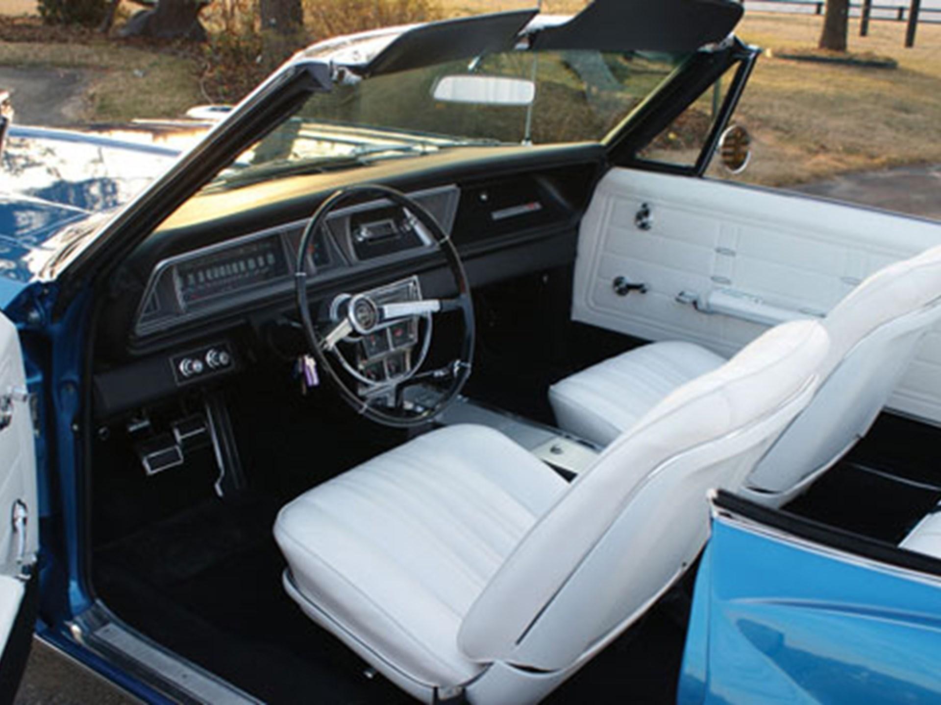 Rm Sothebys 1966 Chevrolet Impala Ss 427 425 Convertible Chevy