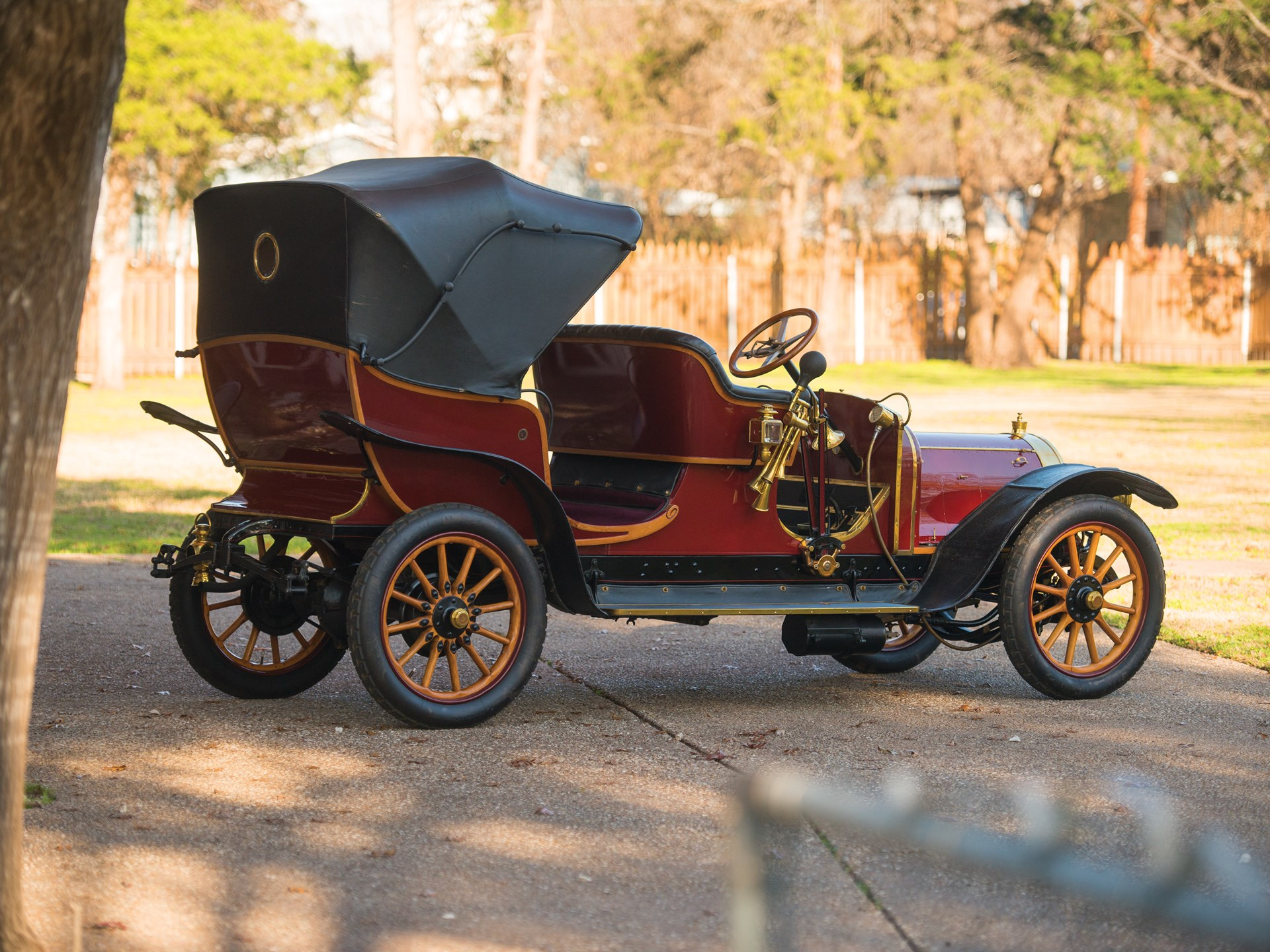 1909 Delaunay-Belleville Type IA6 Victoria by Brewster