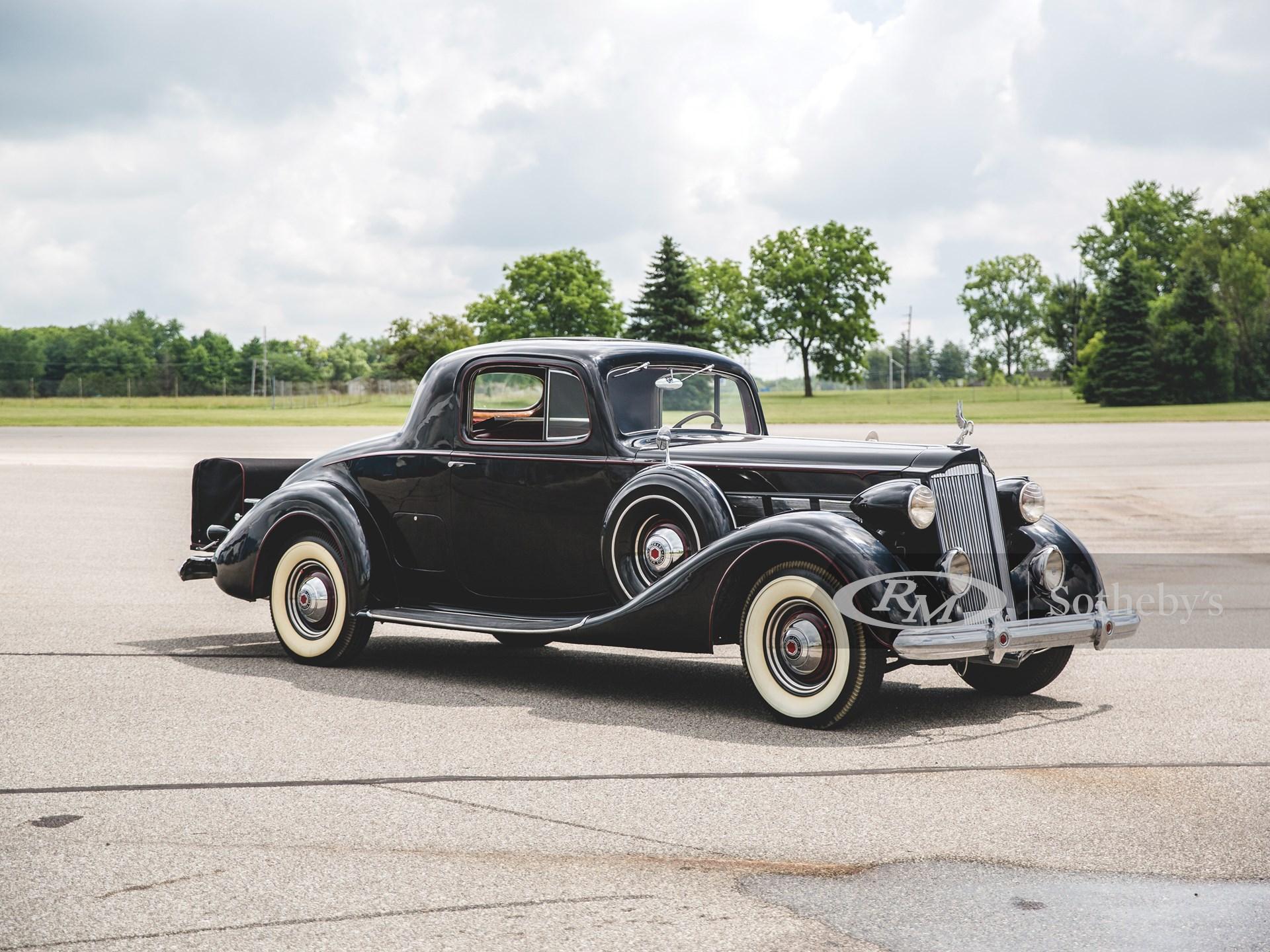 1937 Packard Super Eight 2/4-Passenger Coupe