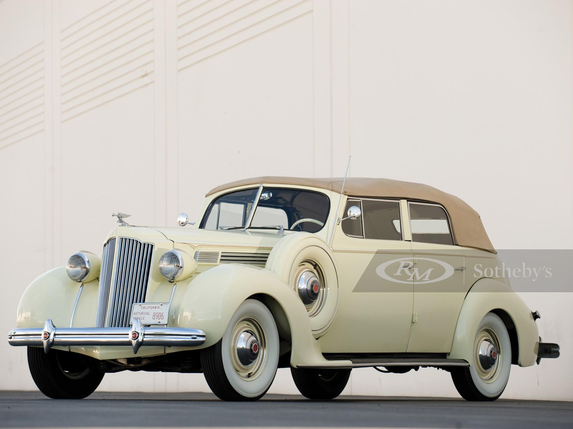 1938 Packard Eight Convertible Sedan