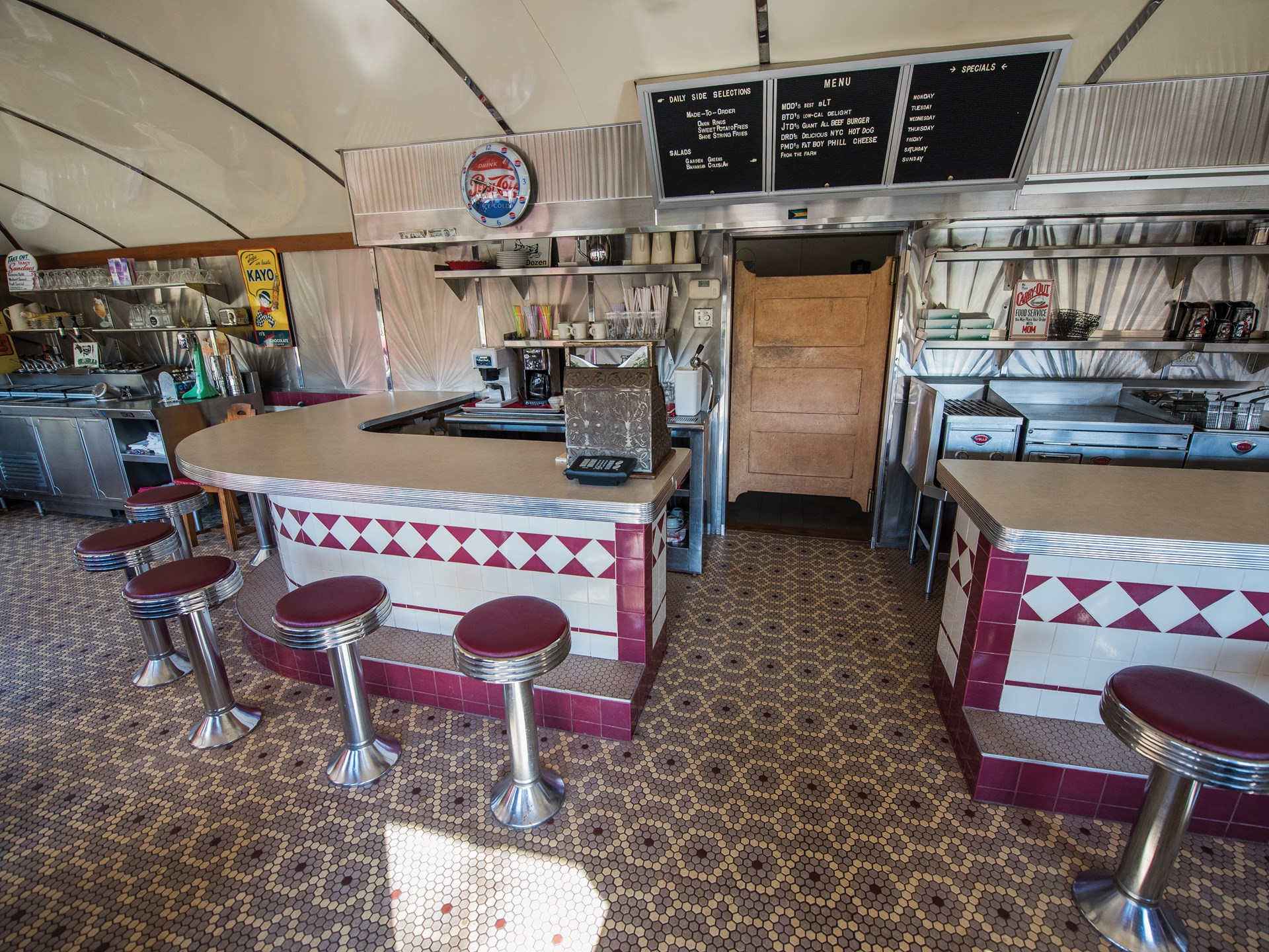 Silk City Diner by Paterson Vehicle Company