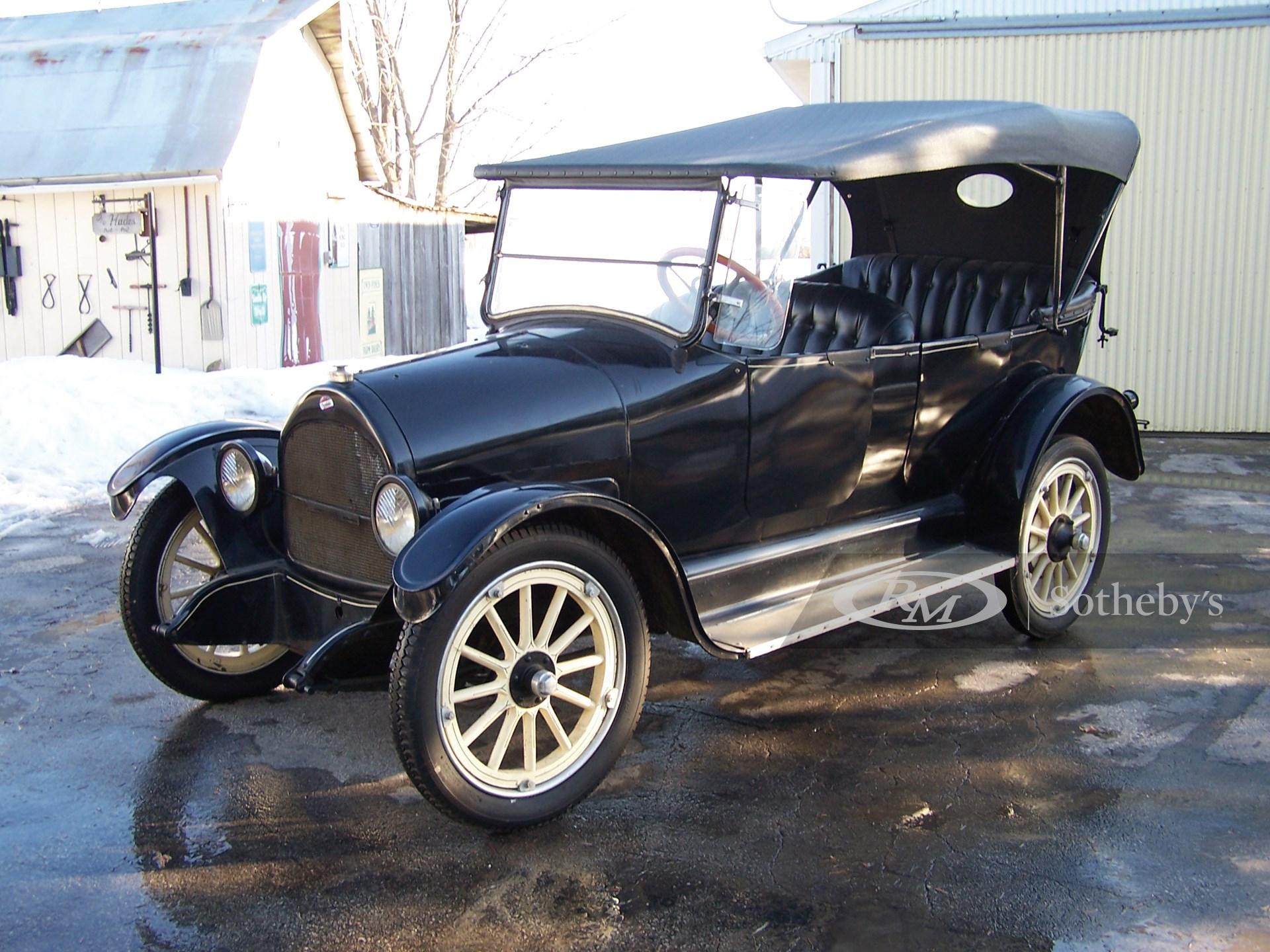 1917 Overland Five Passenger Touring Car